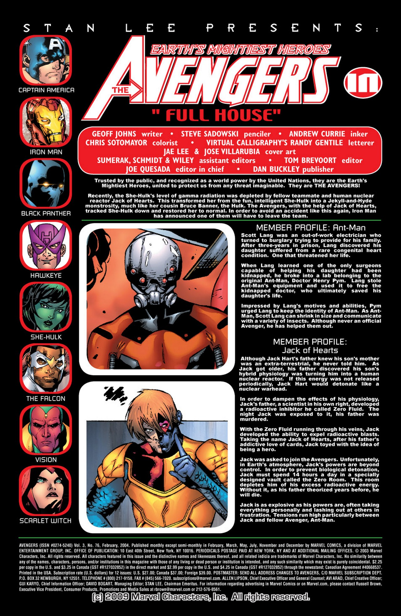 Read online Avengers (1998) comic -  Issue #76 - 2