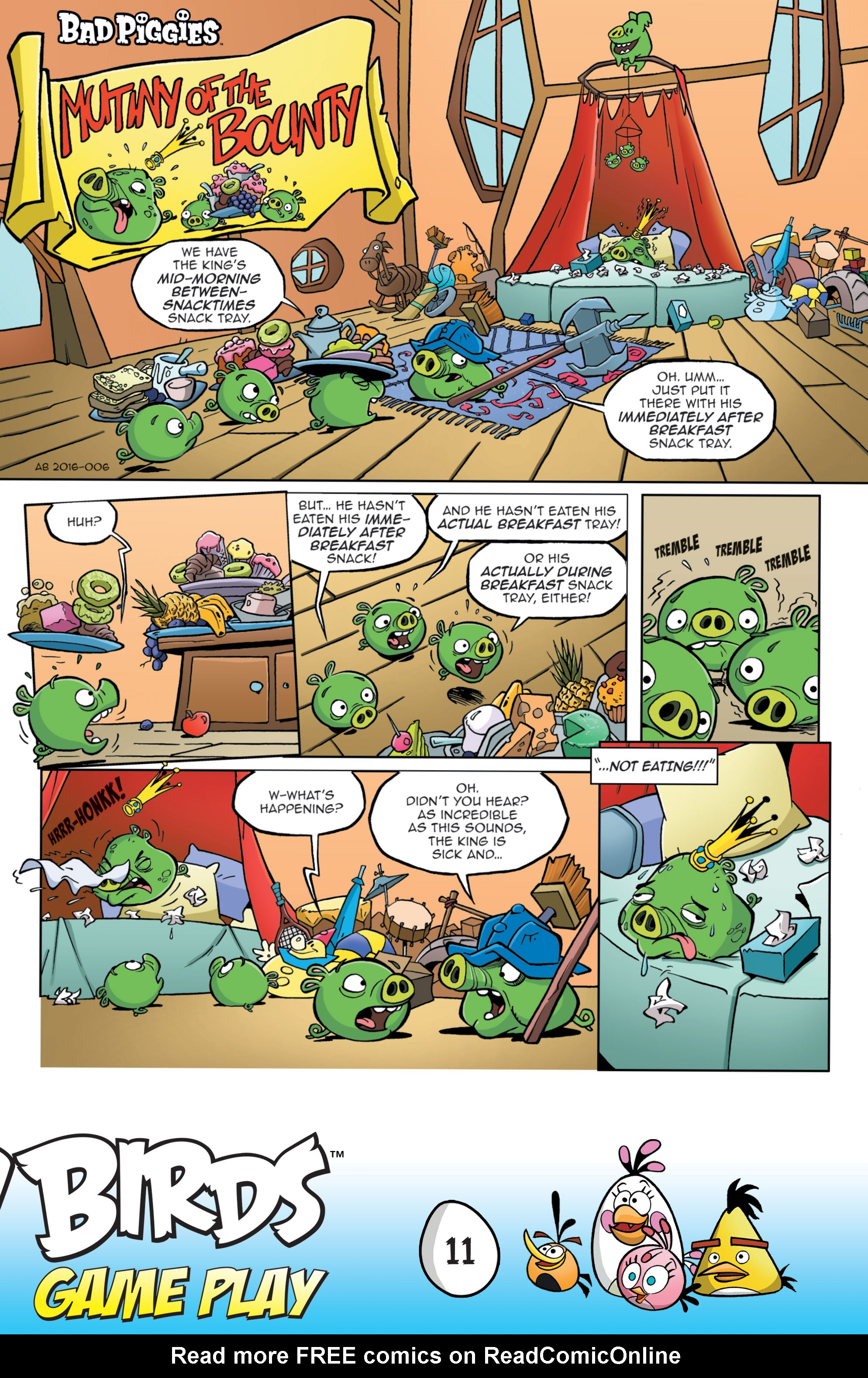 Read online Angry Birds Comics: Game Play comic -  Issue #3 - 13