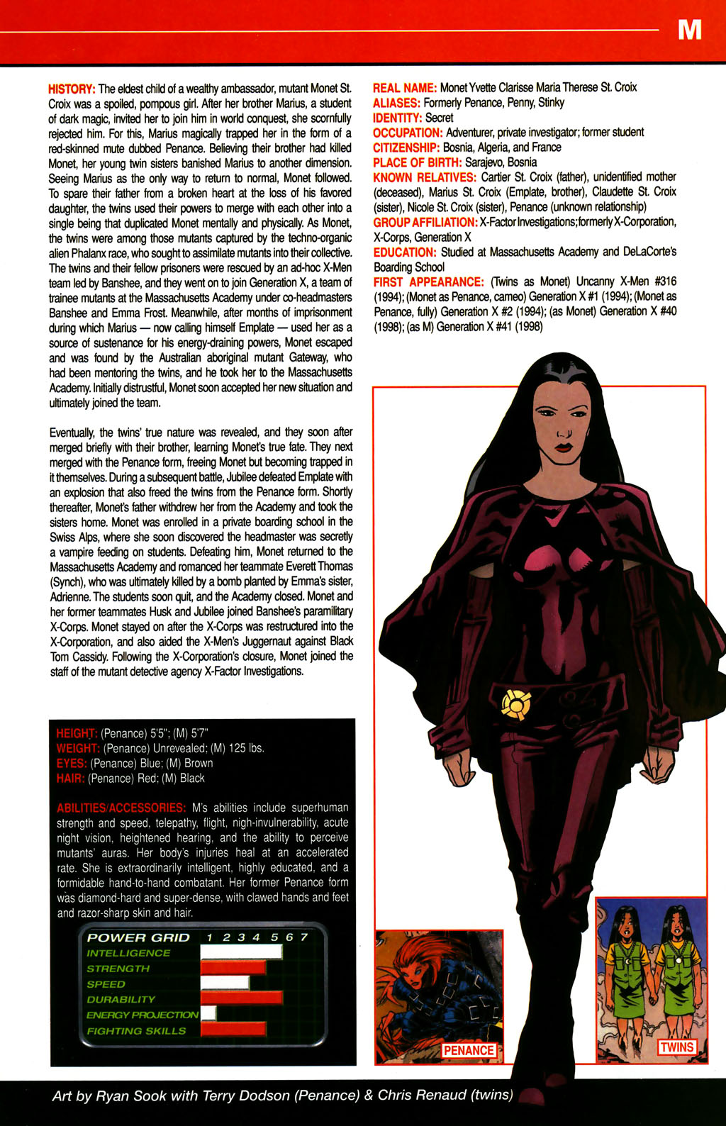 Read online All-New Official Handbook of the Marvel Universe A to Z comic -  Issue #6 - 39