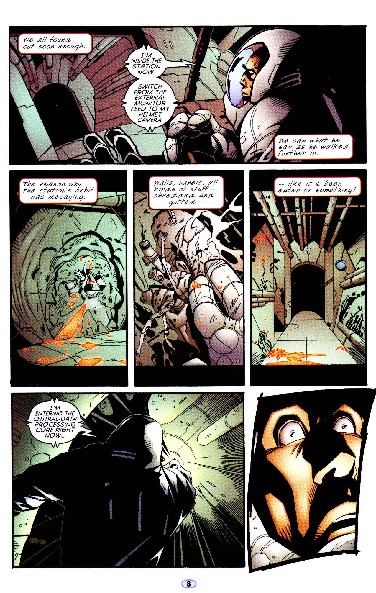 Read online Troublemakers comic -  Issue #6 - 7