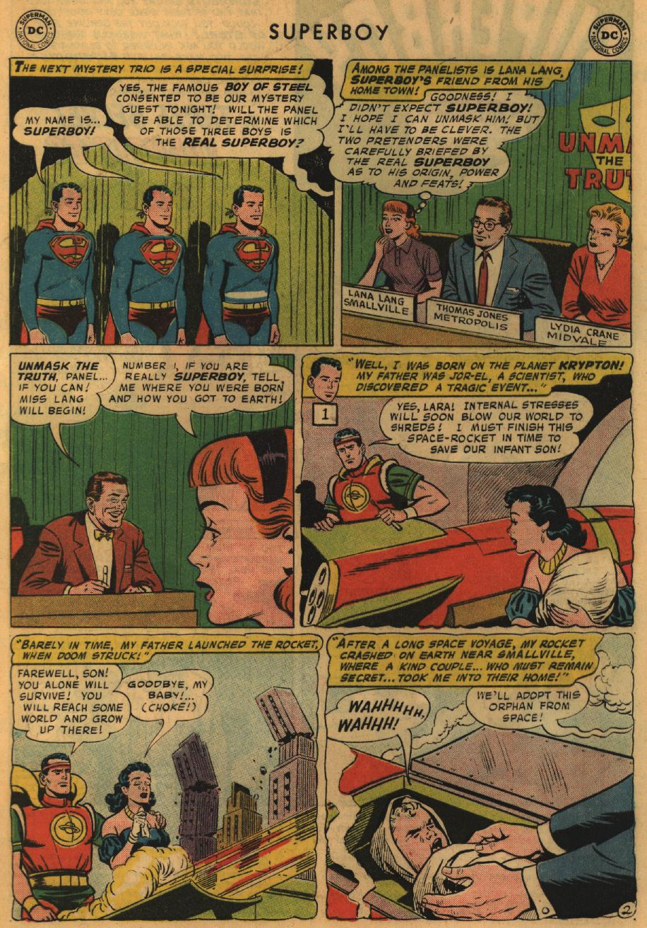 Superboy (1949) issue 67 - Page 3