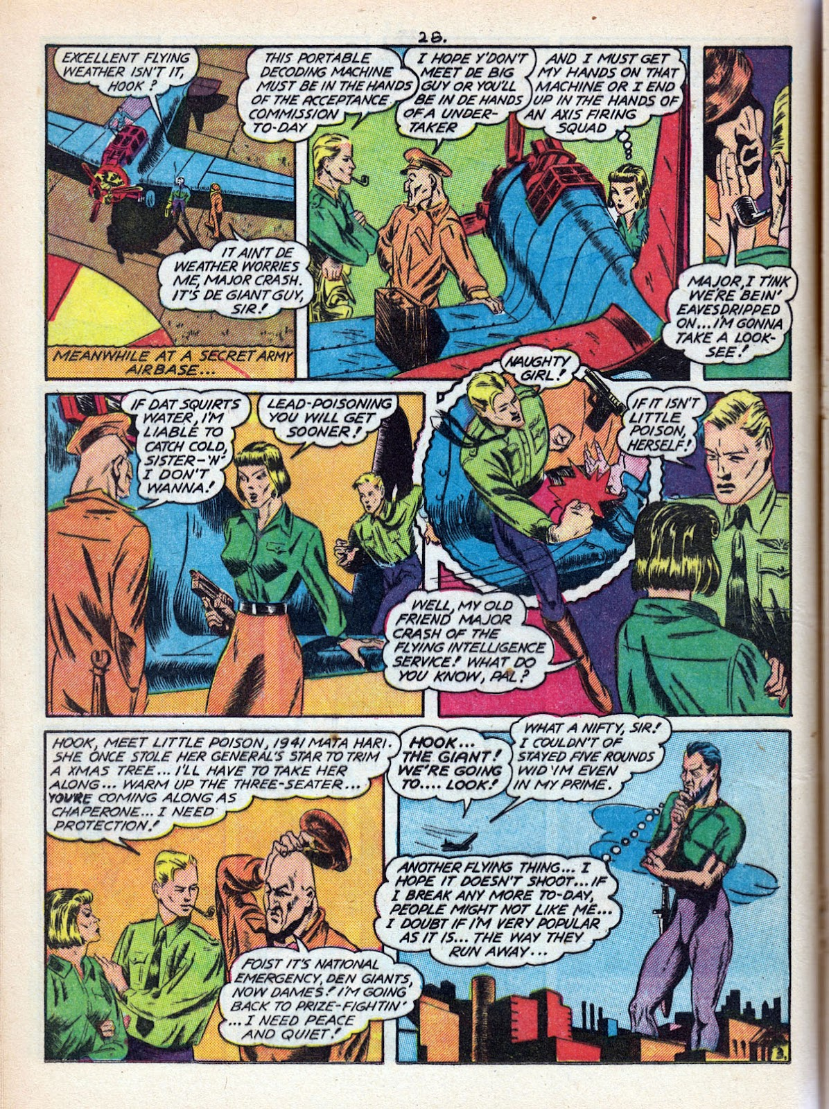 Read online Comedy Comics (1942) comic -  Issue #10 - 30