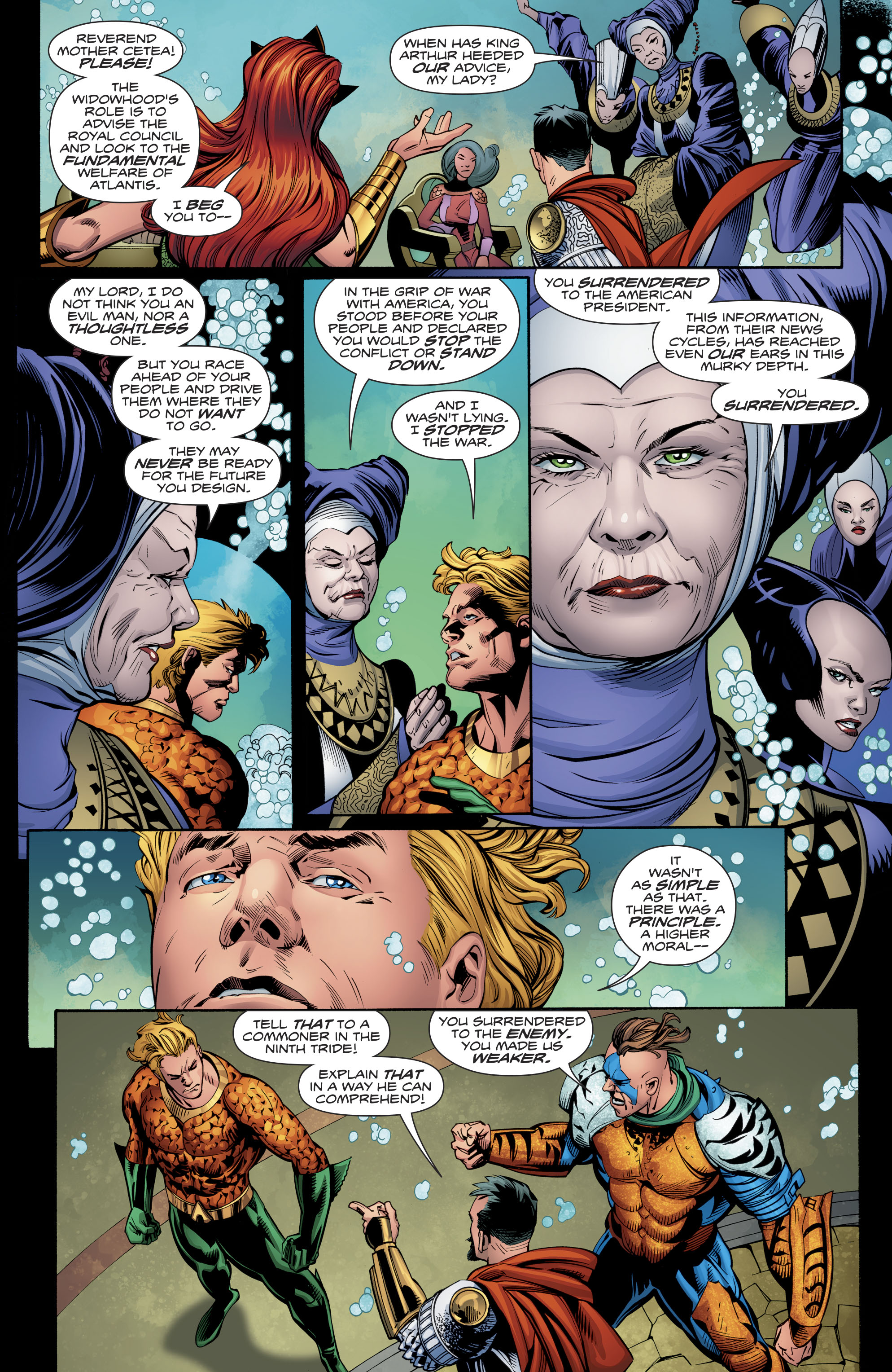Read online Aquaman (2016) comic -  Issue #23 - 19