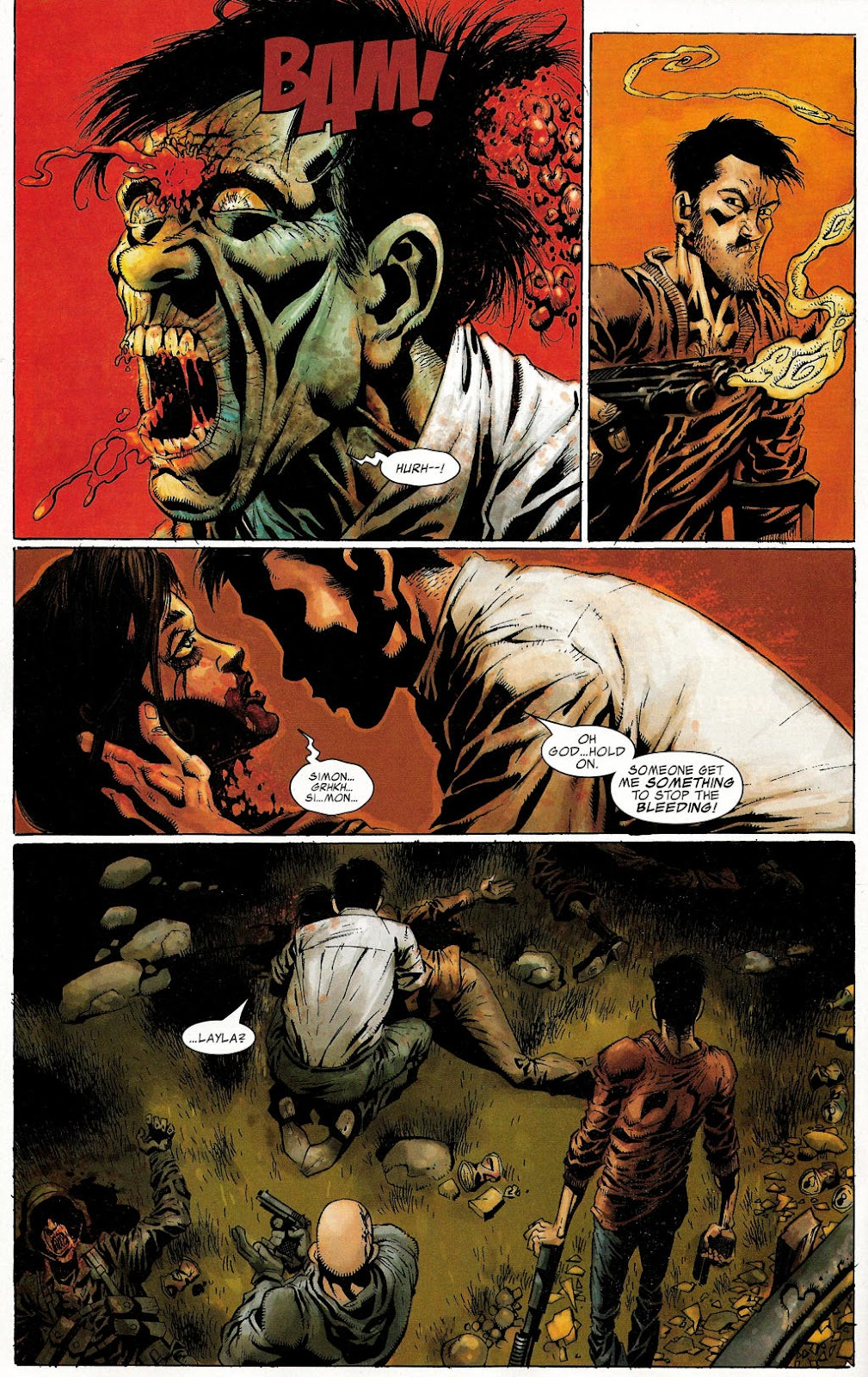 Read online Zombie (2006) comic -  Issue #1 - 15