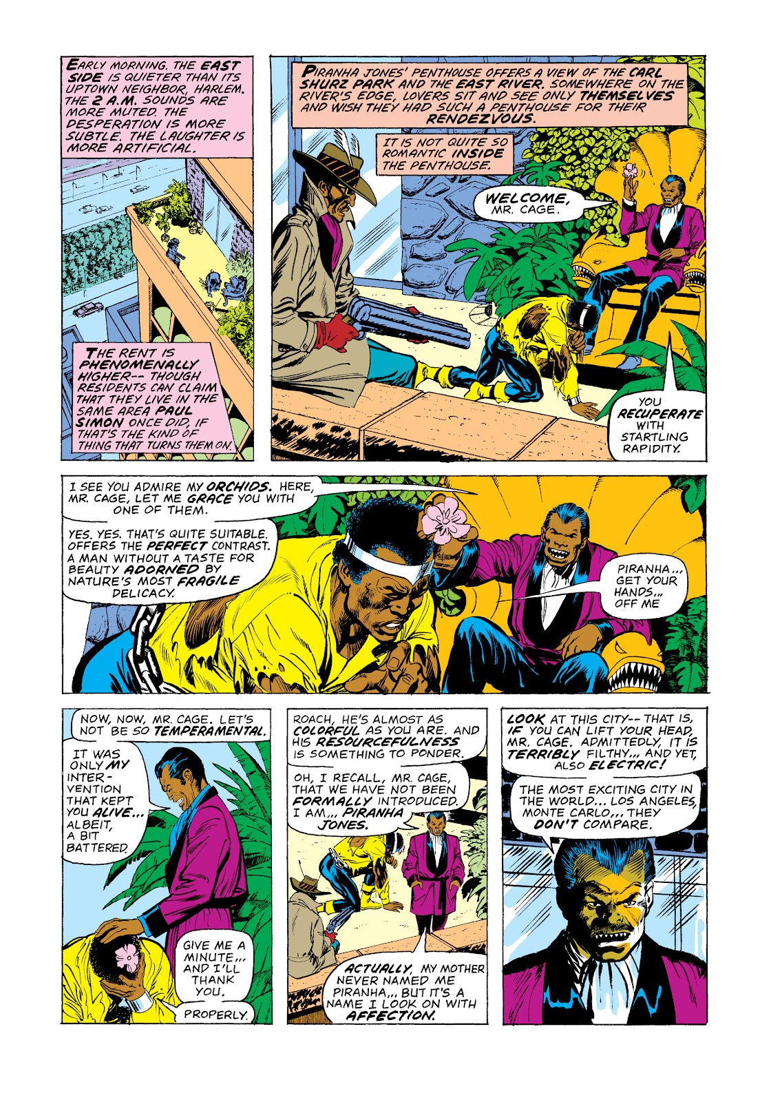 Read online Marvel Masterworks: Luke Cage, Power Man comic -  Issue # TPB 2 (Part 3) - 86