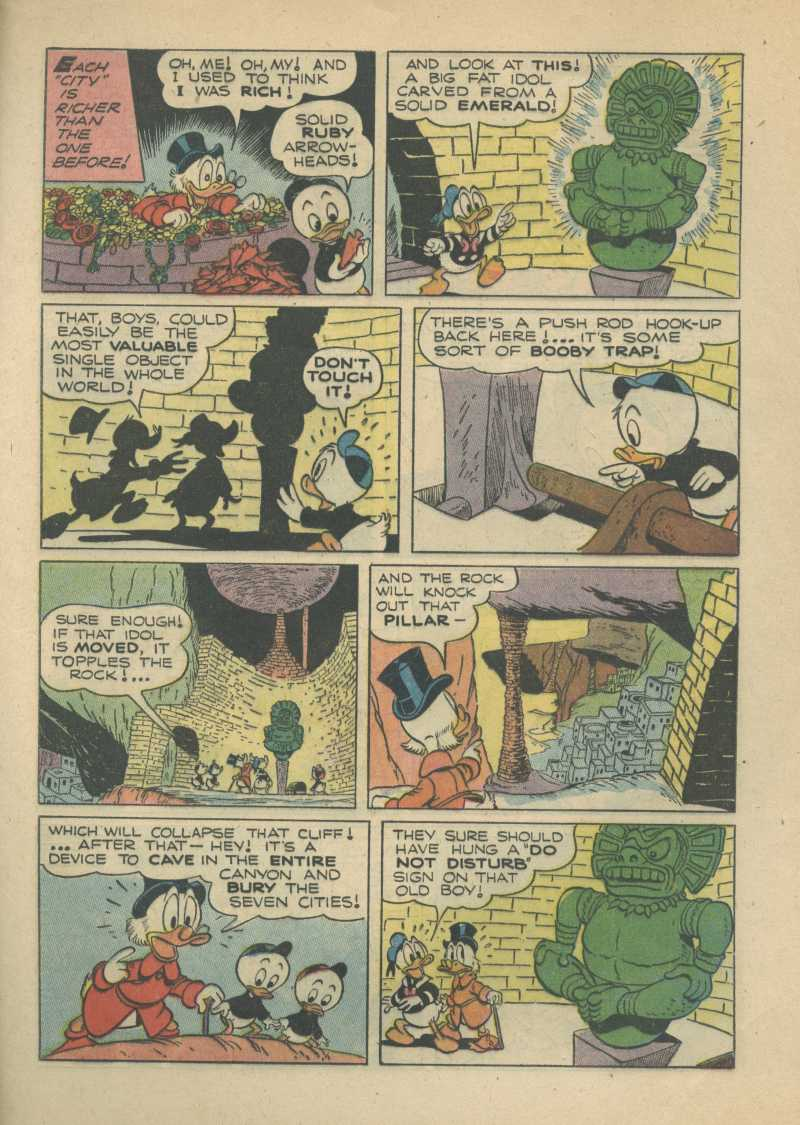 Read online Uncle Scrooge (1953) comic -  Issue #7 - 25