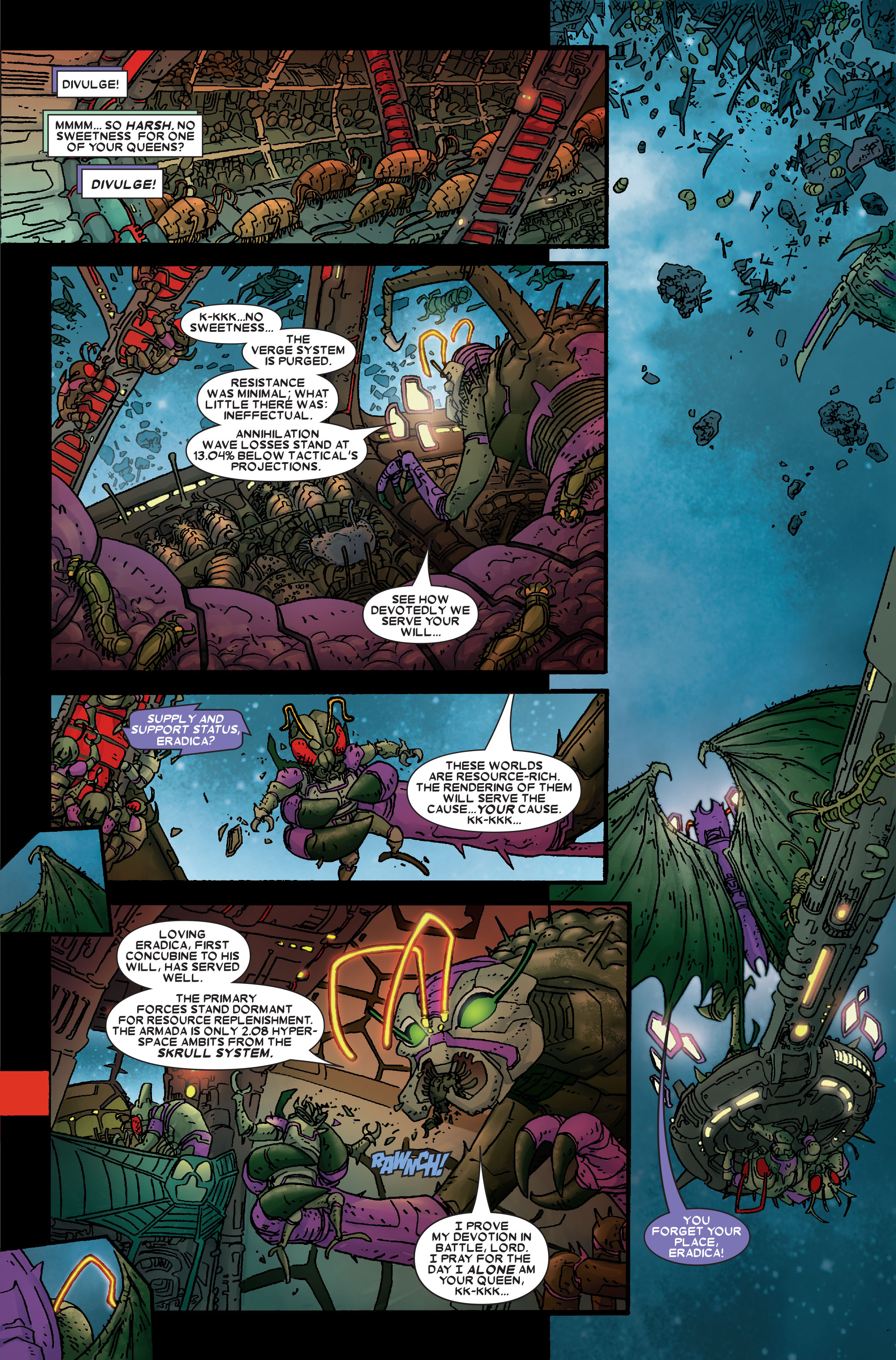 Read online Annihilation: Prologue comic -  Issue #Annihilation: Prologue Full - 40