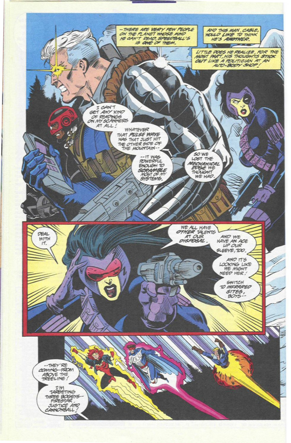 The New Warriors Issue #46 #50 - English 14