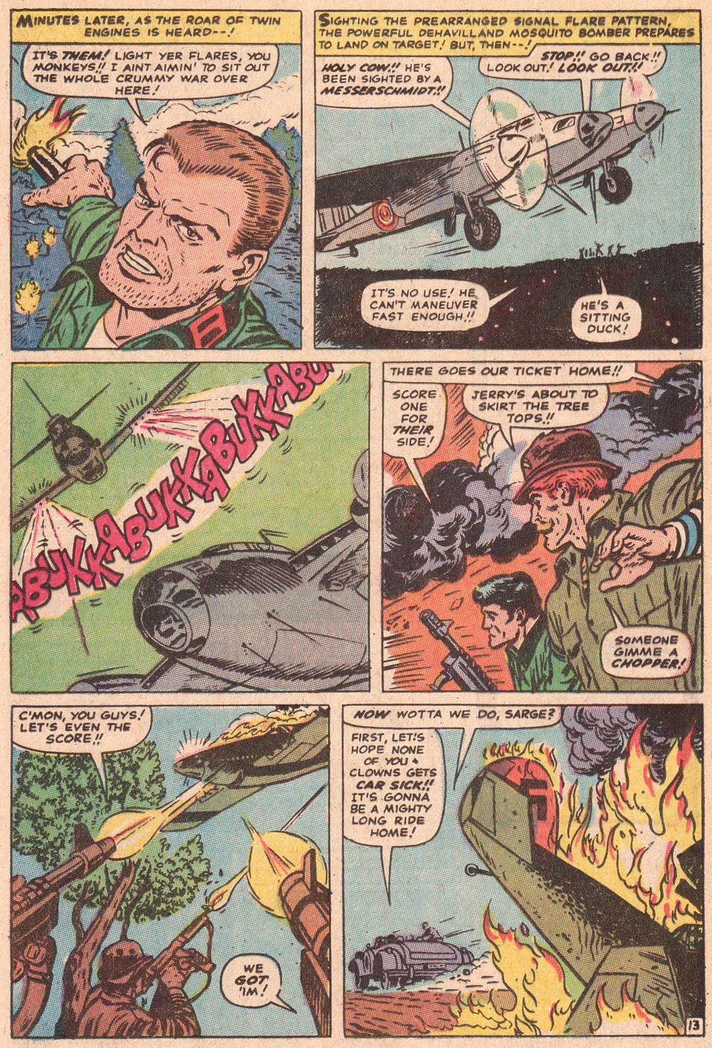 Read online Sgt. Fury comic -  Issue #80 - 20