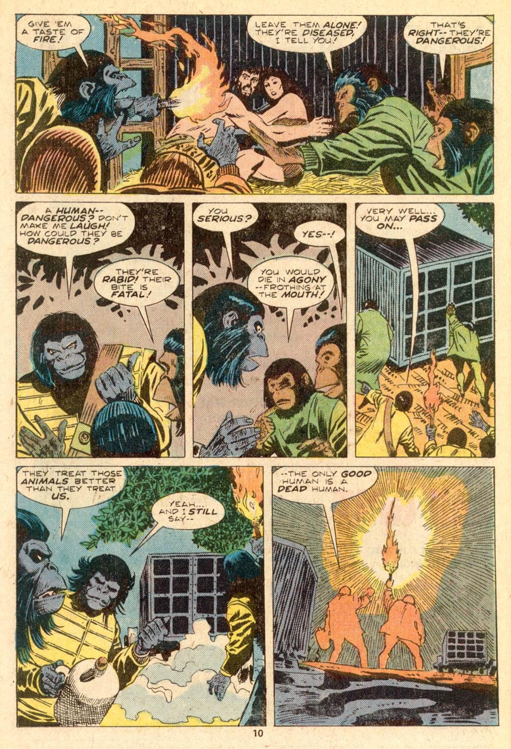 Read online Adventures on the Planet of the Apes comic -  Issue #5 - 7