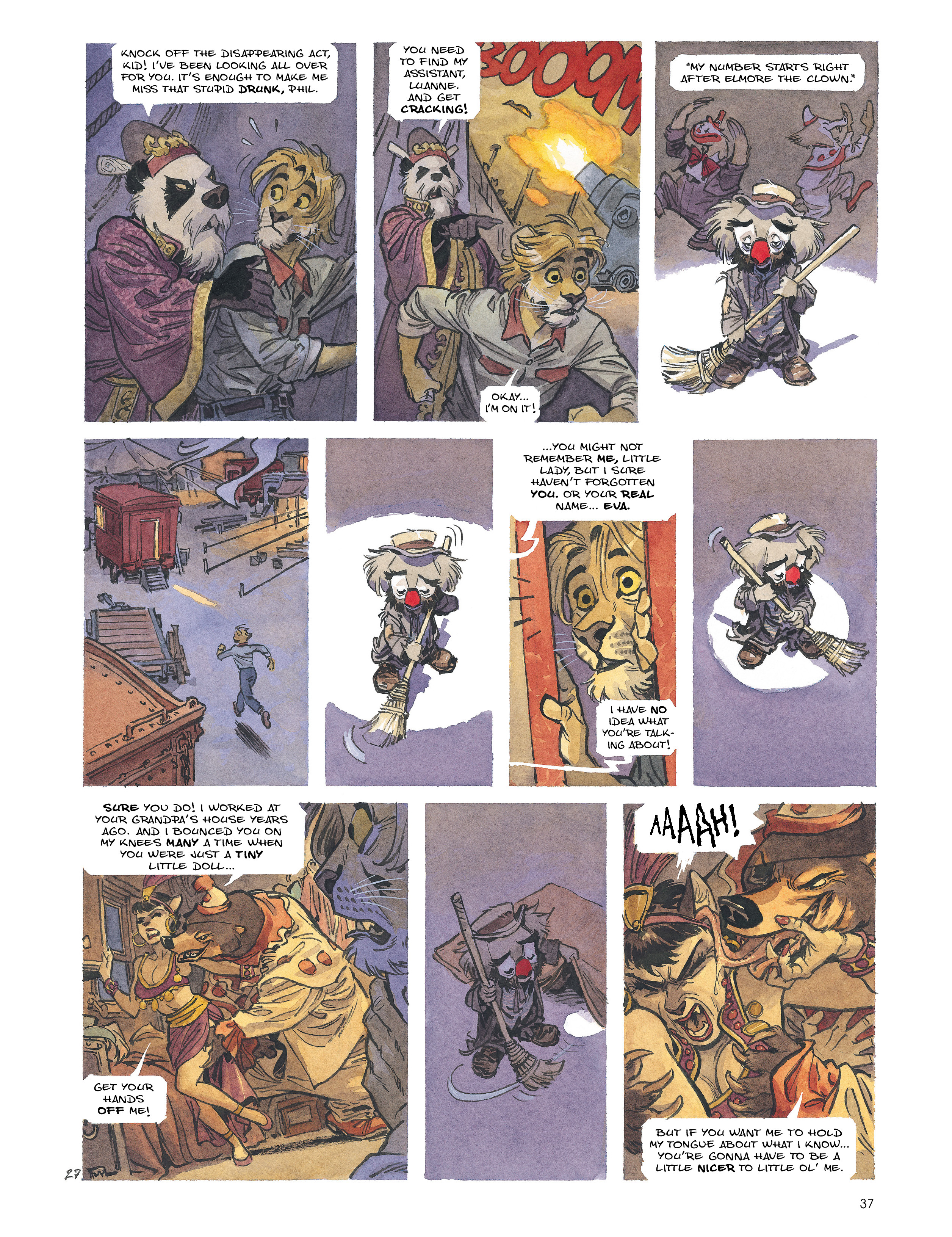 Read online Blacksad: Amarillo comic -  Issue # Full - 36