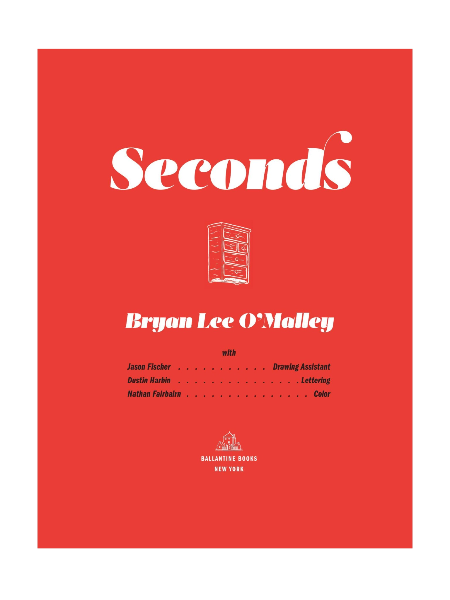 Read online Seconds comic -  Issue # Full - 4