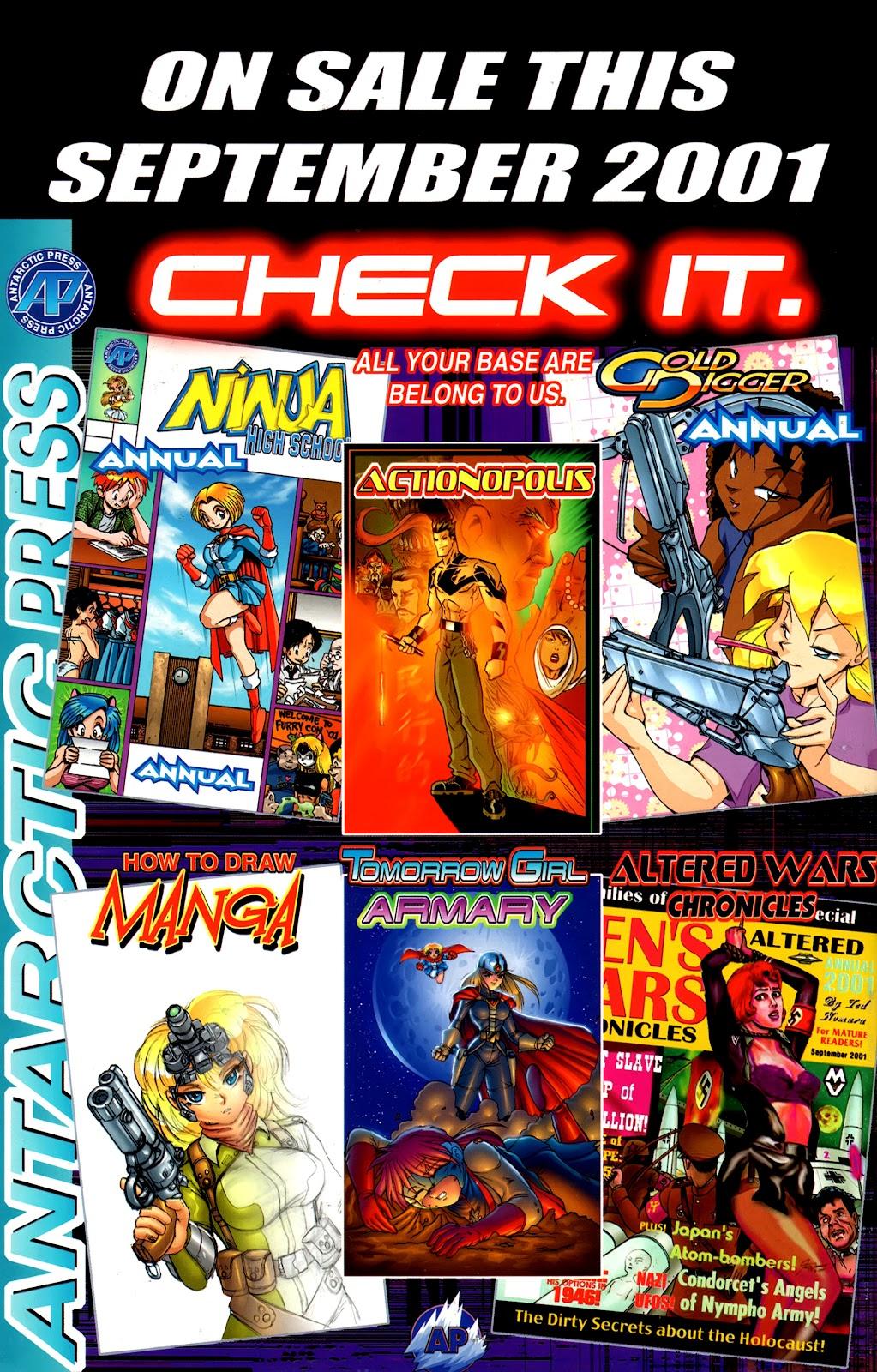 Warrior Nun Areala:  Dangerous Game Issue #1 #1 - English 35