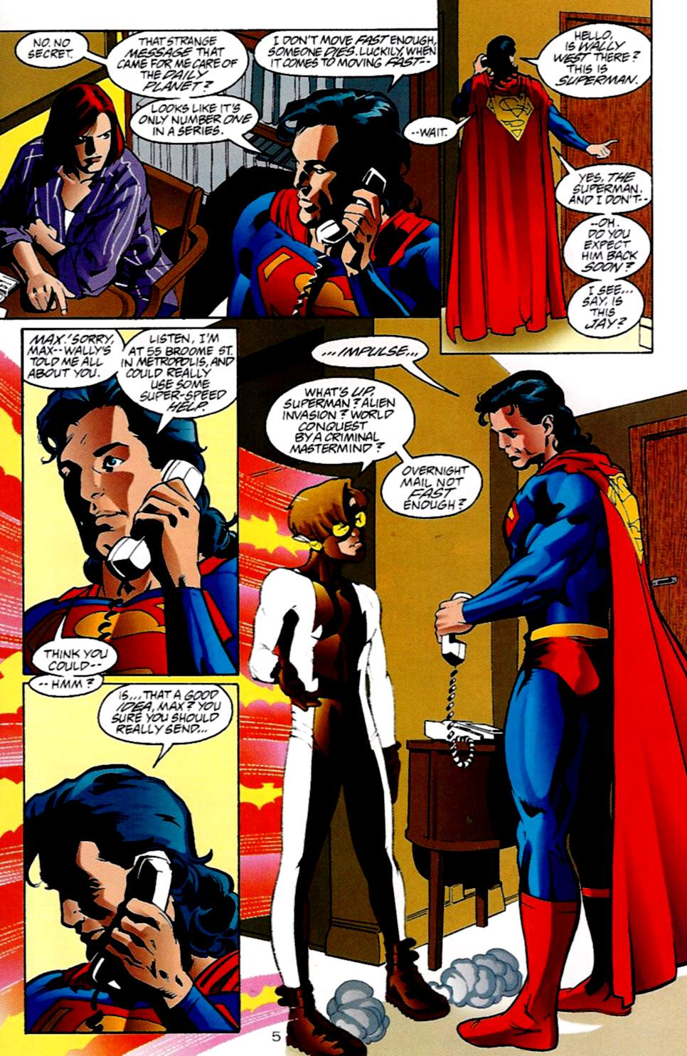 Read online Adventures of Superman (1987) comic -  Issue #533 - 6