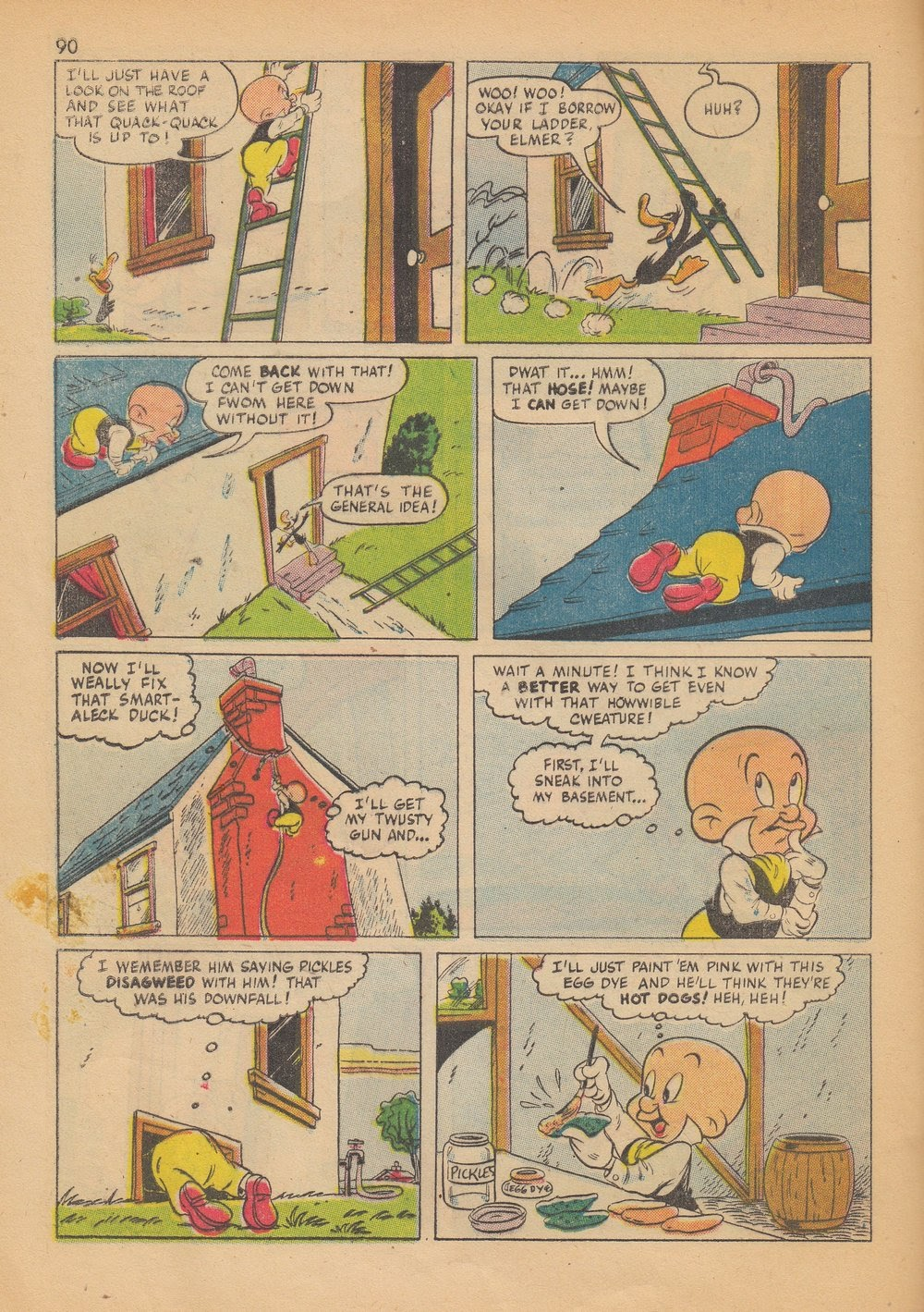 Bugs Bunny's Christmas Funnies issue TPB 4 - Page 92