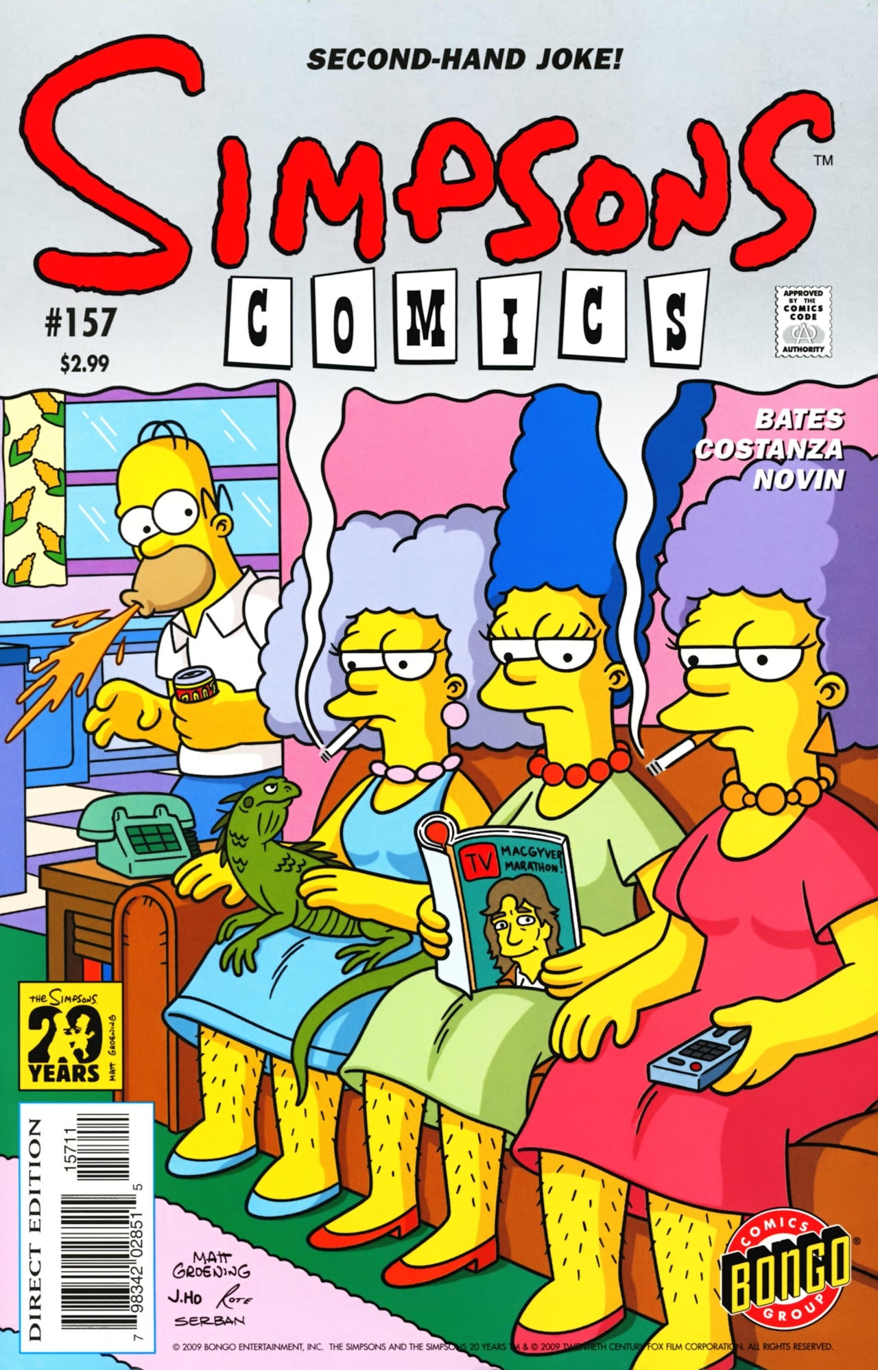 Read online Simpsons Comics comic -  Issue #157 - 1