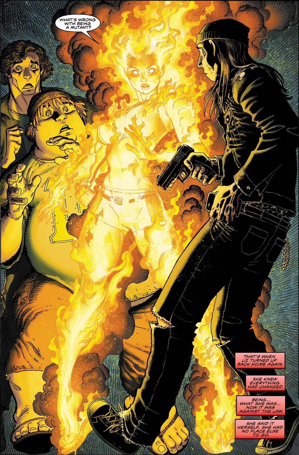 Read online Ultimate X comic -  Issue #4 - 18