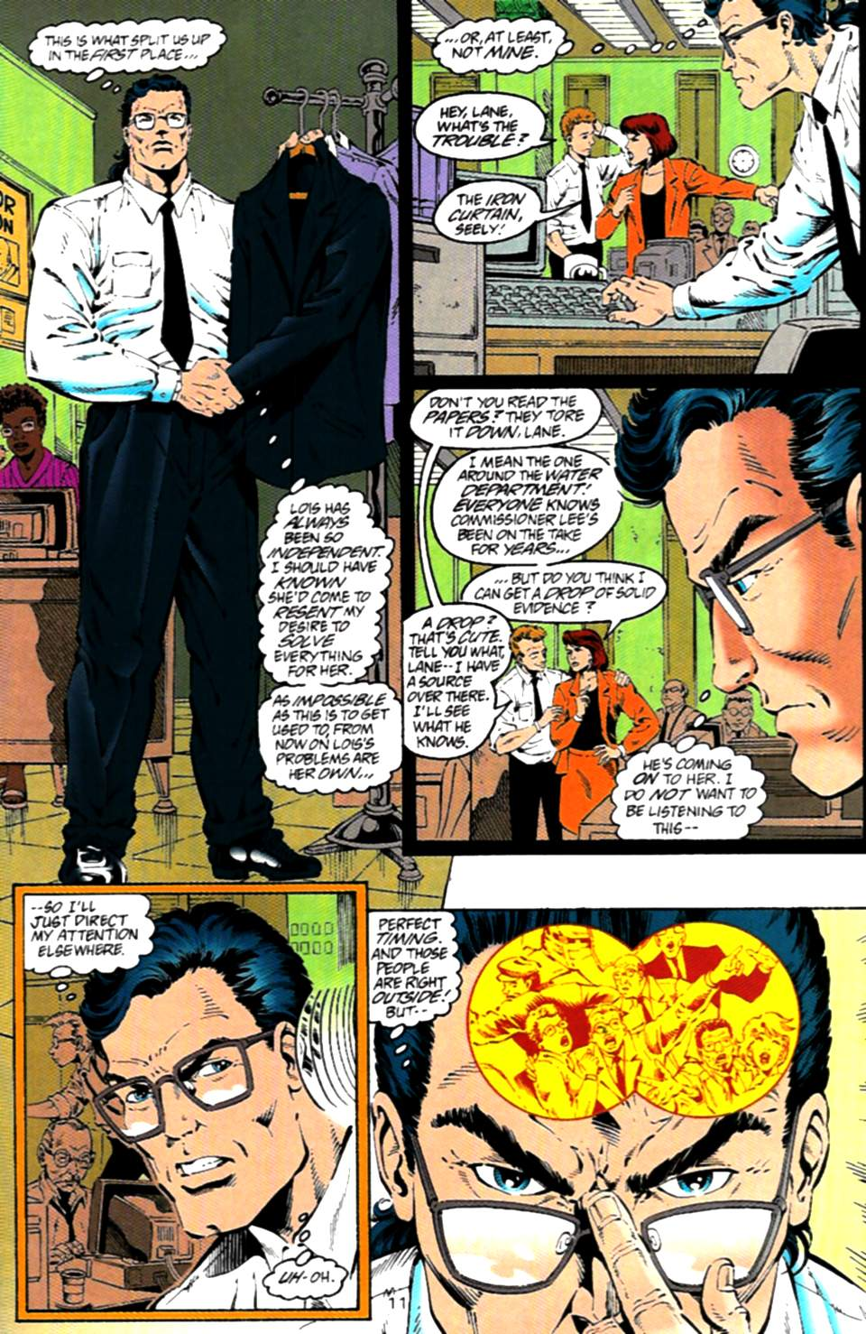 Read online Adventures of Superman (1987) comic -  Issue #536 - 12