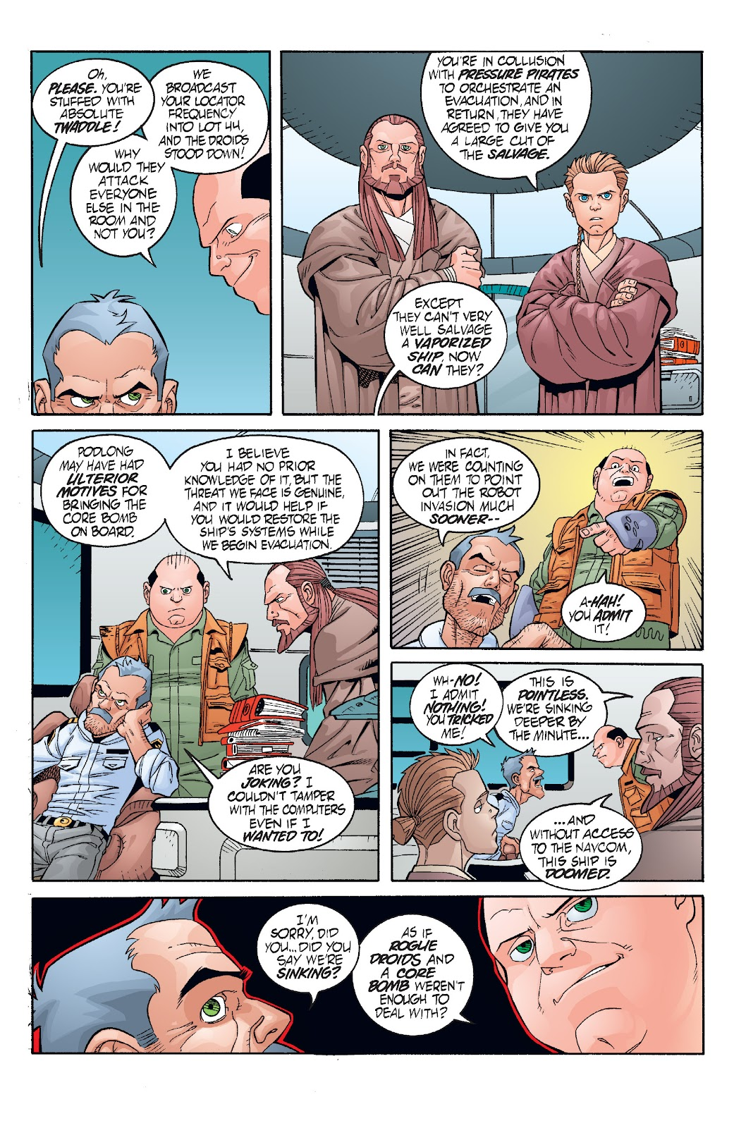 Read online Star Wars Legends: Rise of the Sith - Epic Collection comic -  Issue # TPB 1 (Part 3) - 56