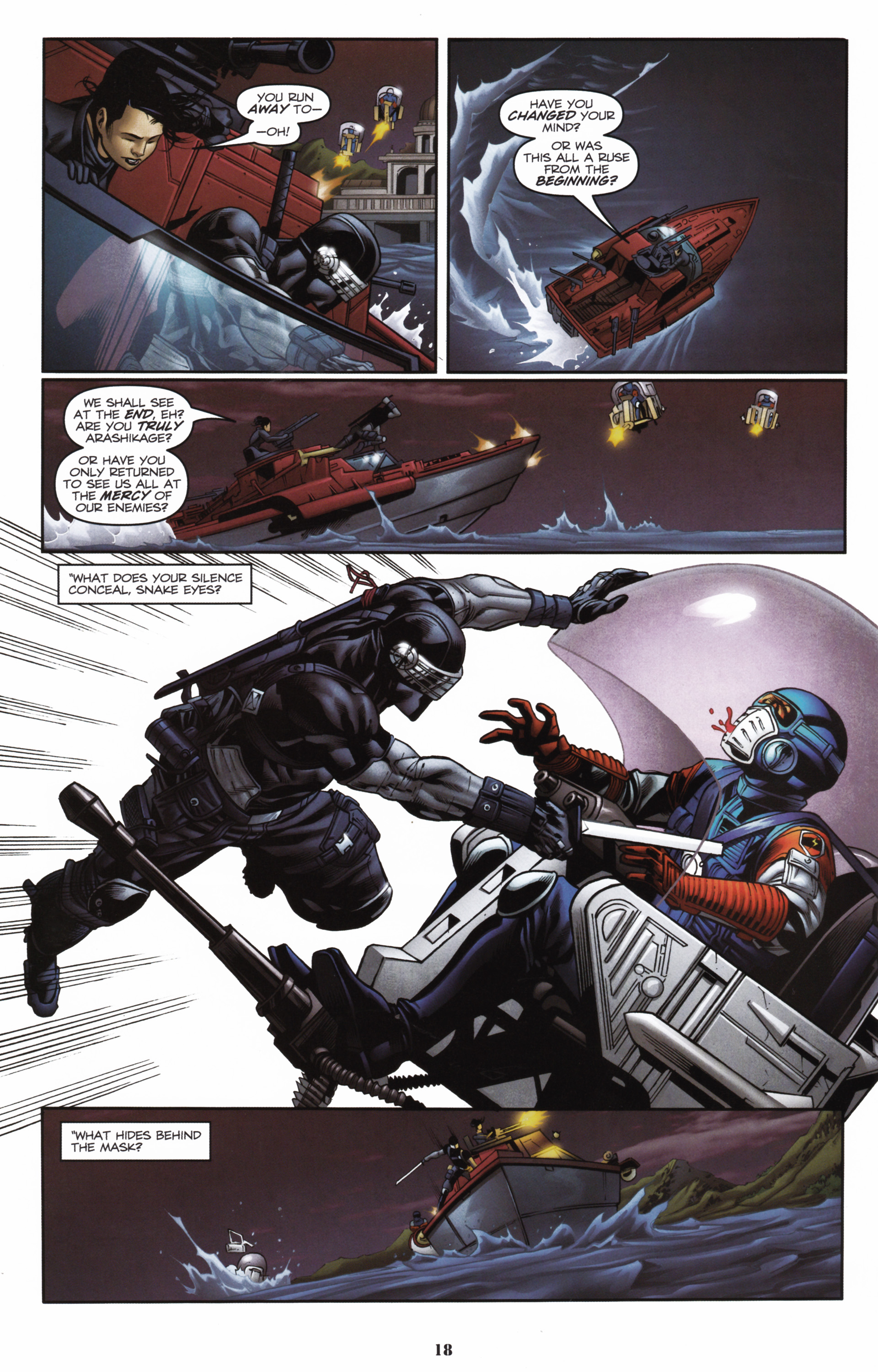 Read online Snake Eyes and Storm Shadow comic -  Issue #16 - 20