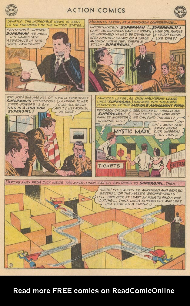 Read online Action Comics (1938) comic -  Issue #285 - 21