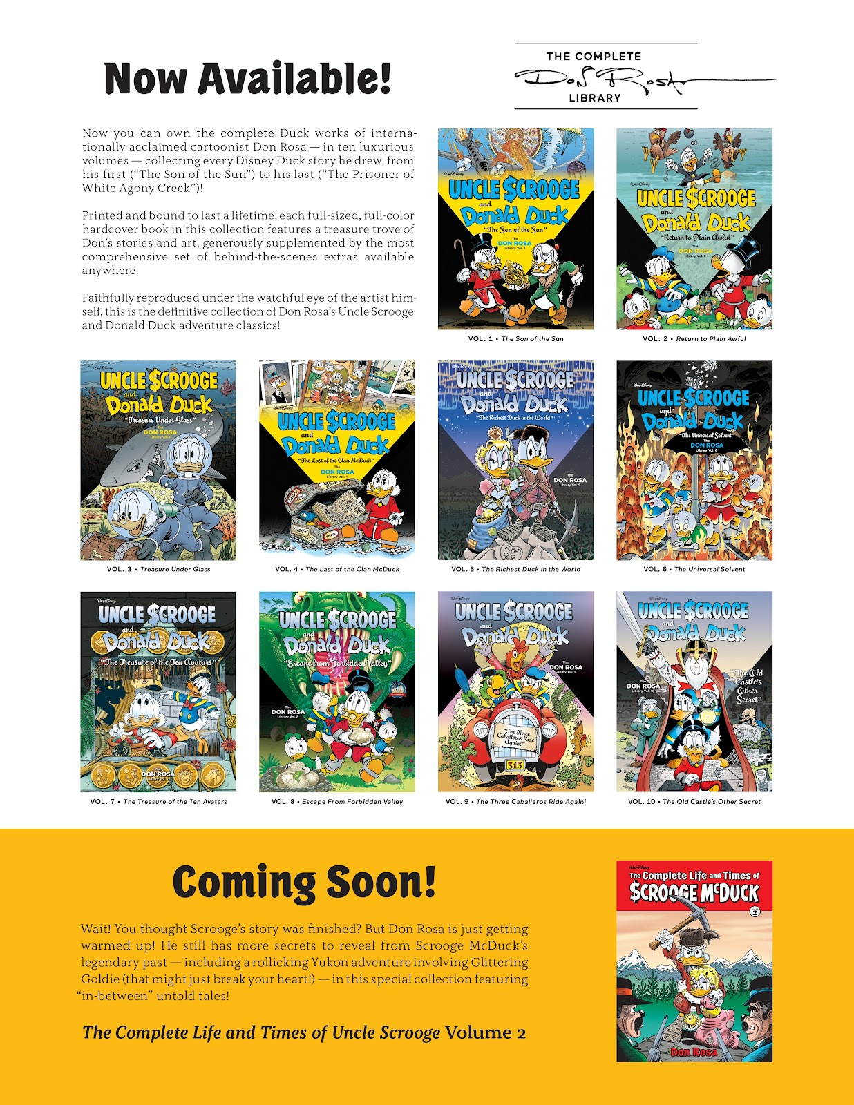 Read online The Complete Life and Times of Scrooge McDuck comic -  Issue # TPB 1 (Part 2) - 121