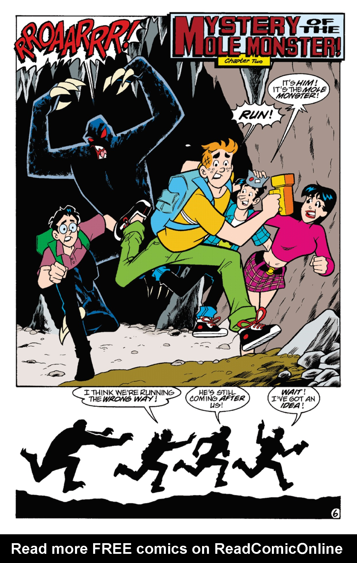 Read online Archie's Weird Mysteries comic -  Issue #22 - 20