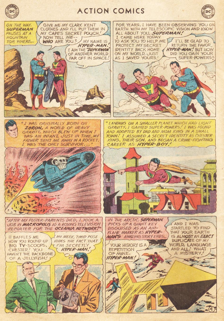 Read online Action Comics (1938) comic -  Issue #265 - 6
