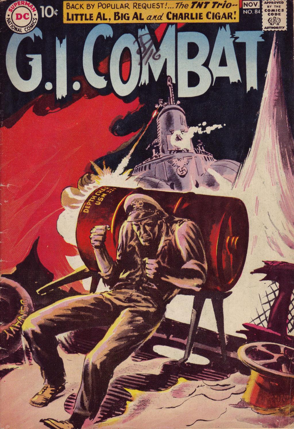 G.I. Combat (1952) 84 Page 1