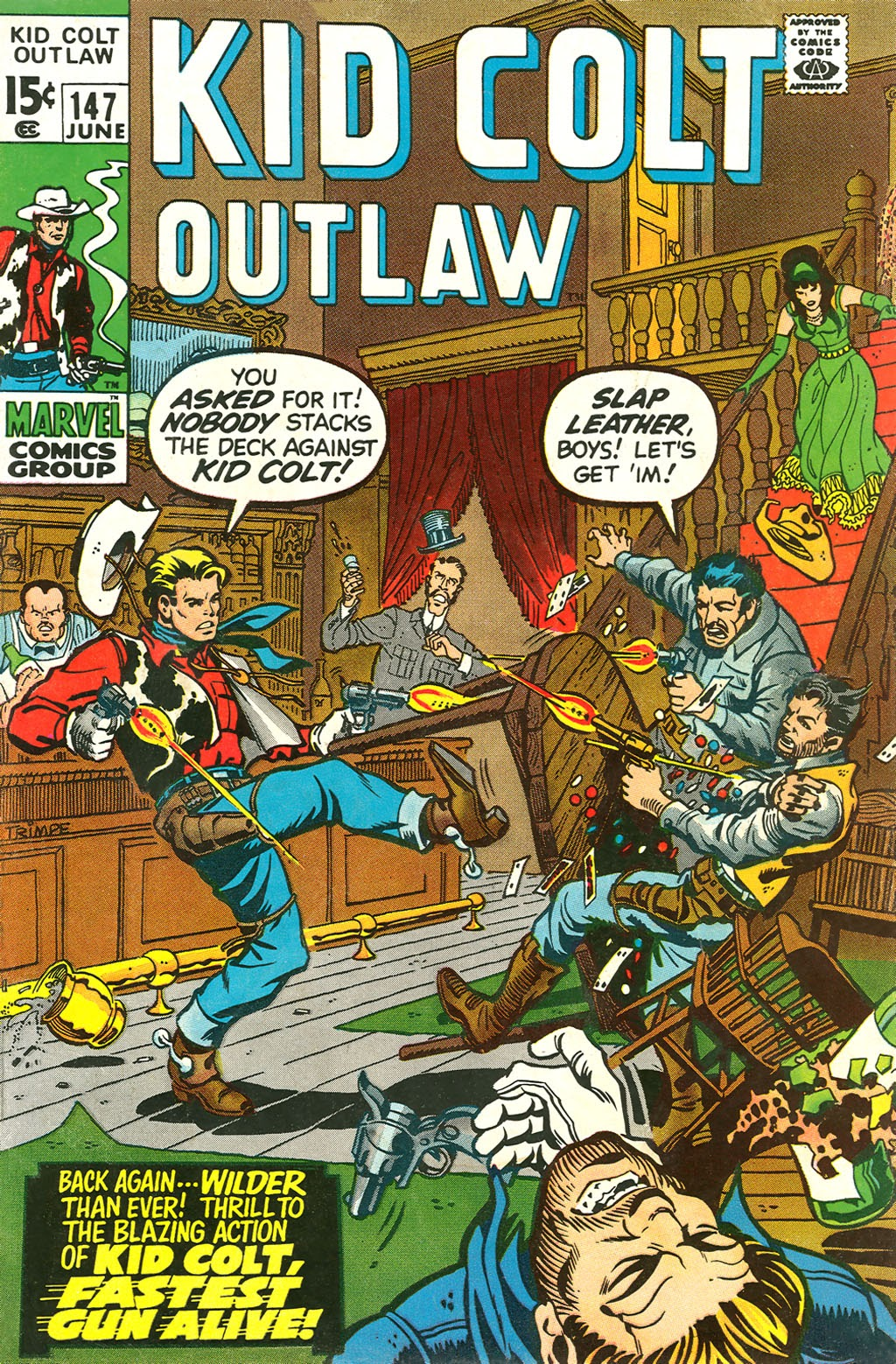 Kid Colt Outlaw issue 147 - Page 1