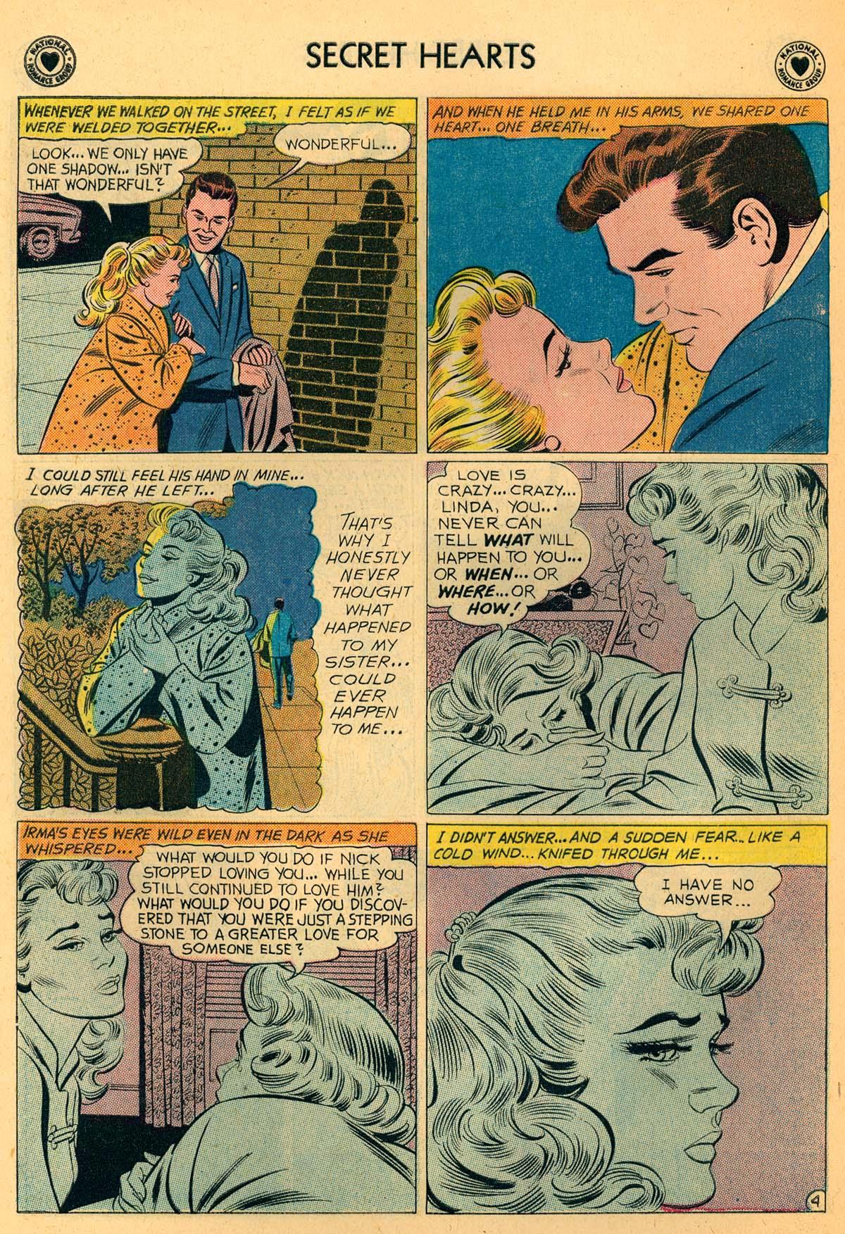 Read online Secret Hearts comic -  Issue #66 - 30