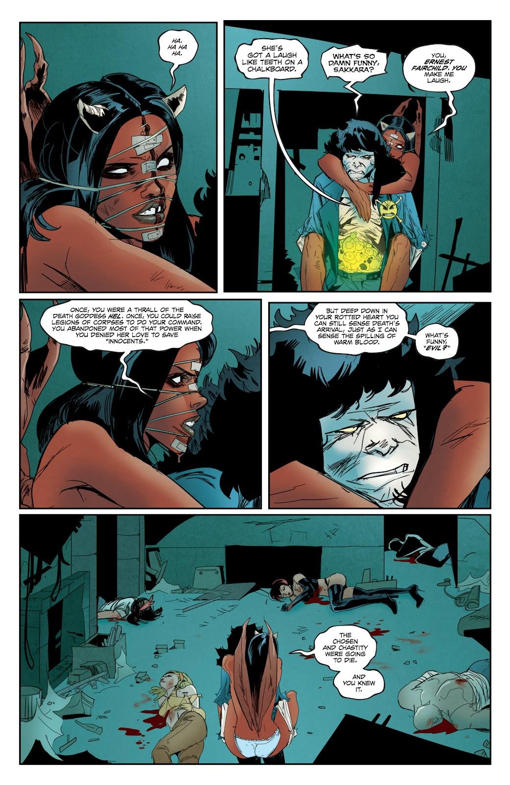 Read online Hack/Slash vs. Chaos comic -  Issue #3 - 23