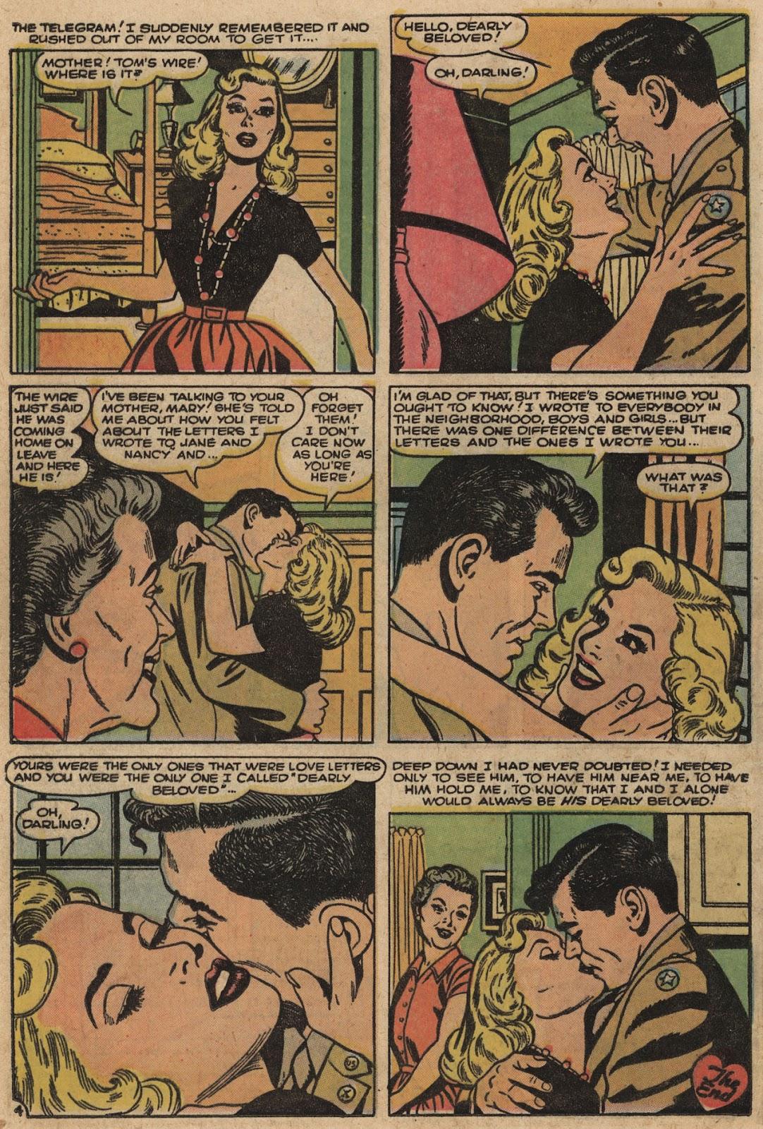 Love Romances (1949) issue 66 - Page 24