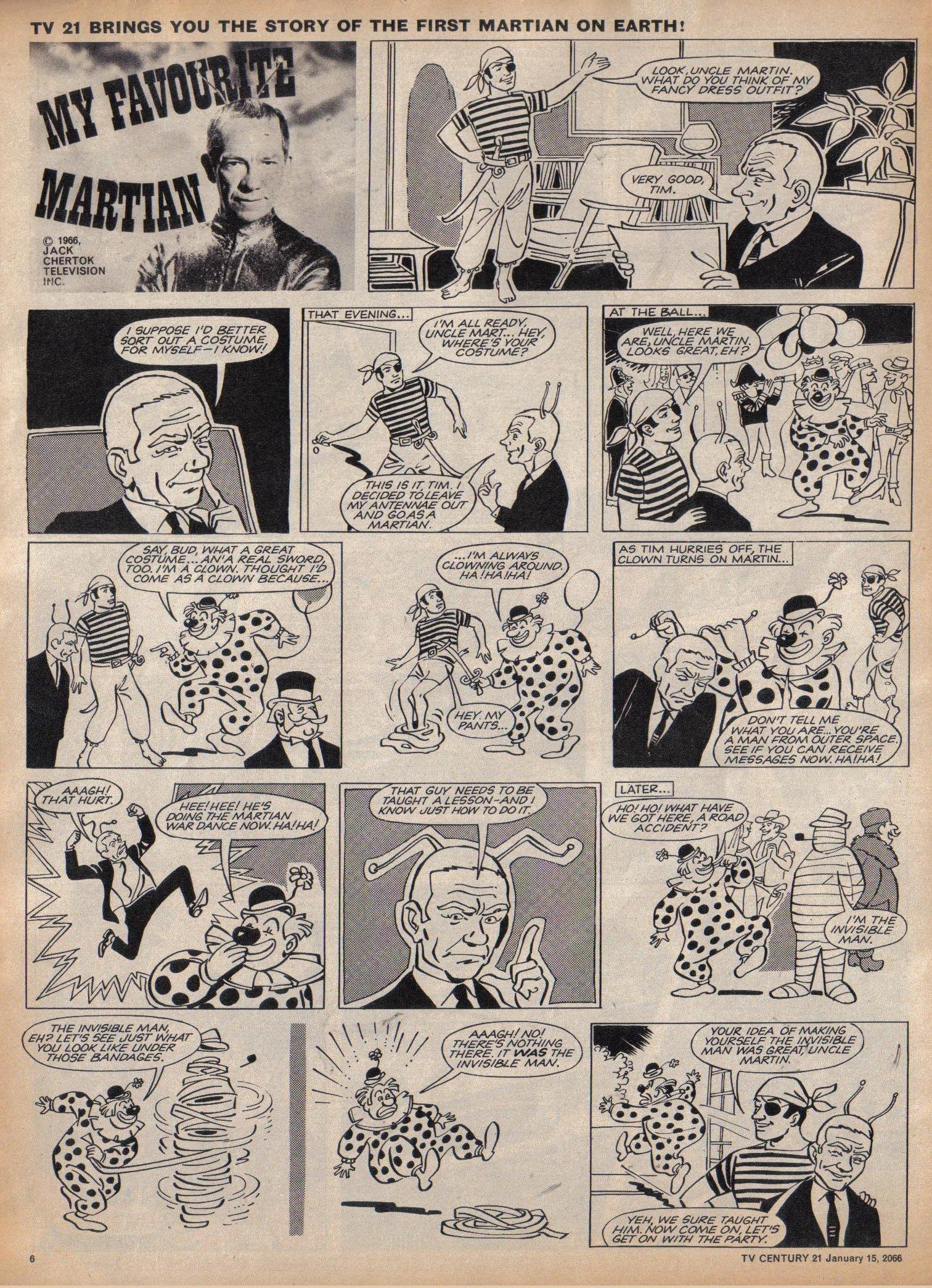 Read online TV Century 21 (TV 21) comic -  Issue #52 - 6