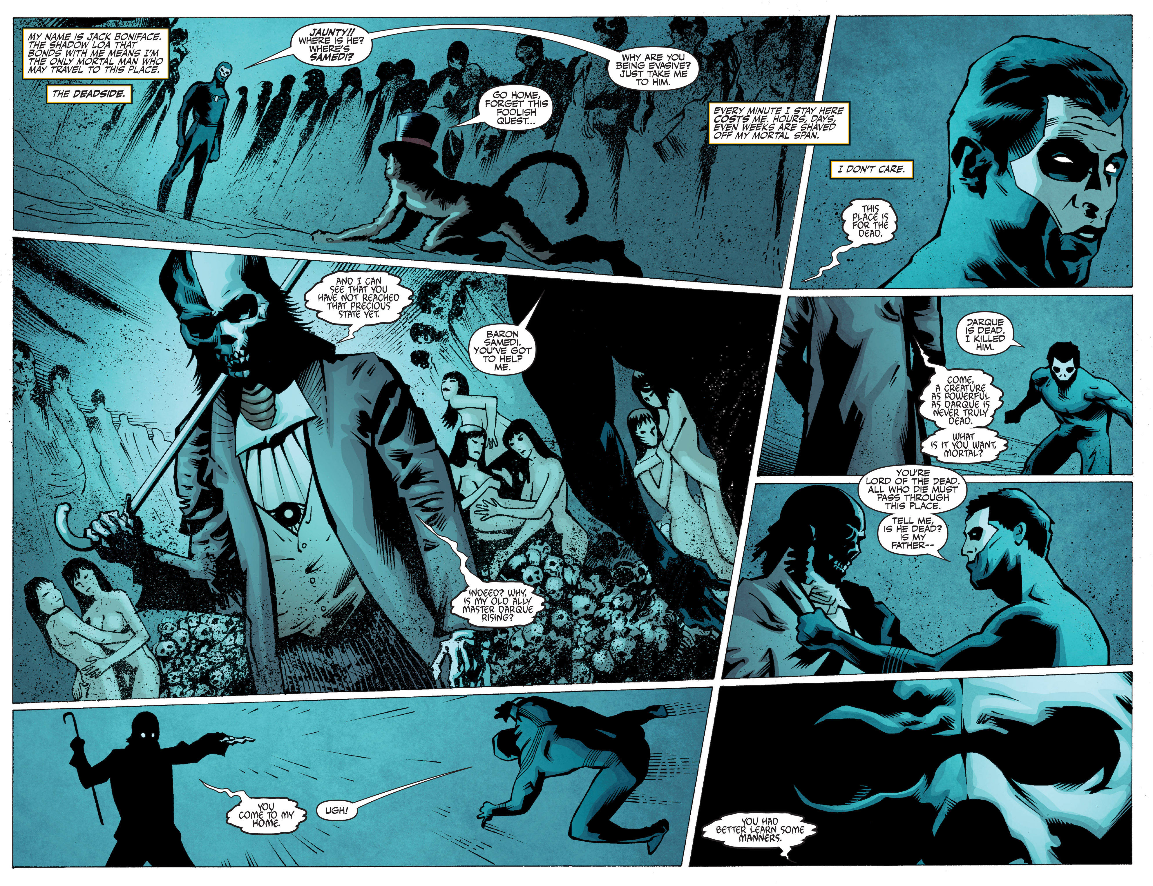 Read online Shadowman: End Times comic -  Issue #2 - 7