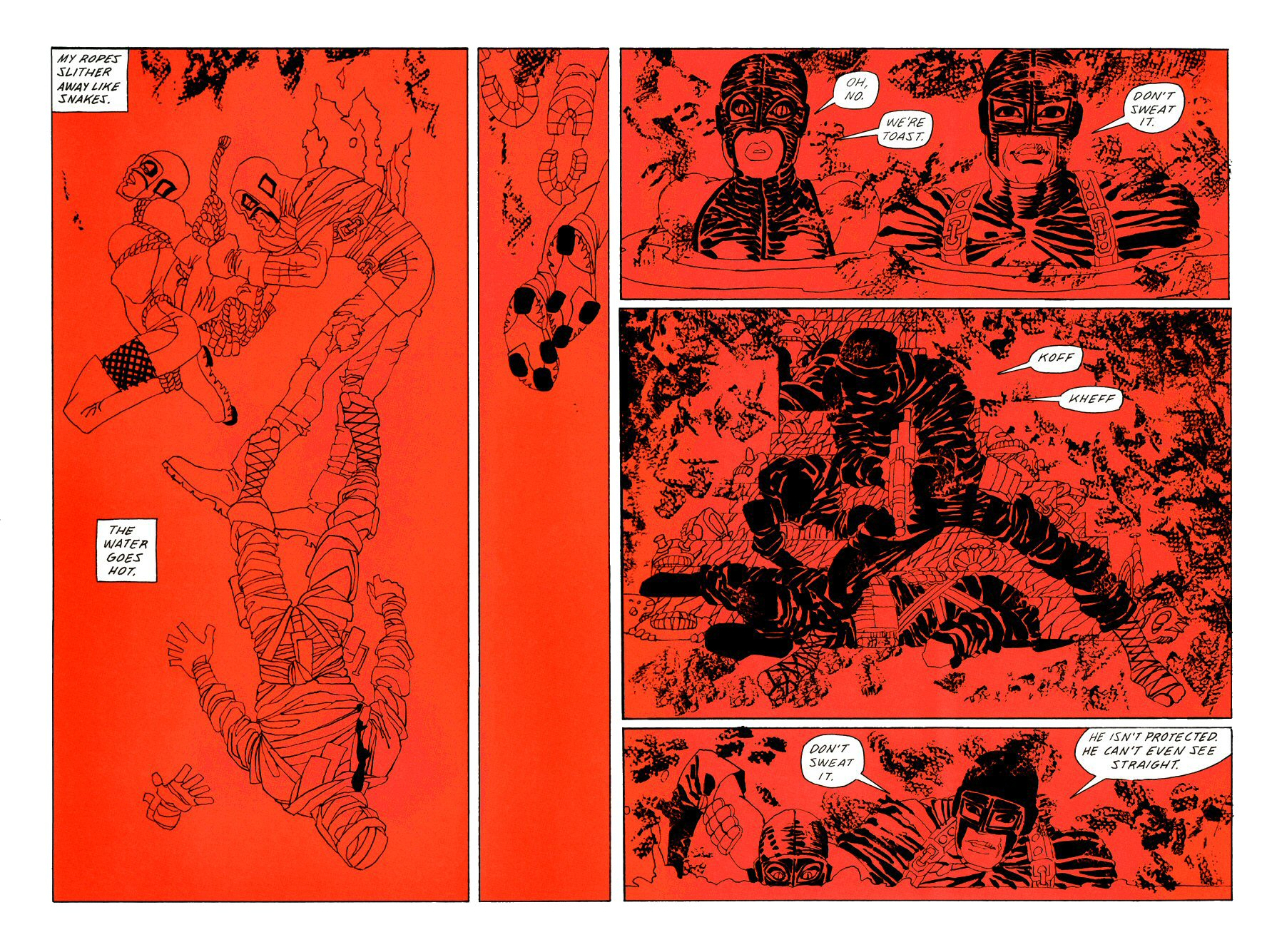 Read online Frank Miller's Holy Terror comic -  Issue # TPB - 114