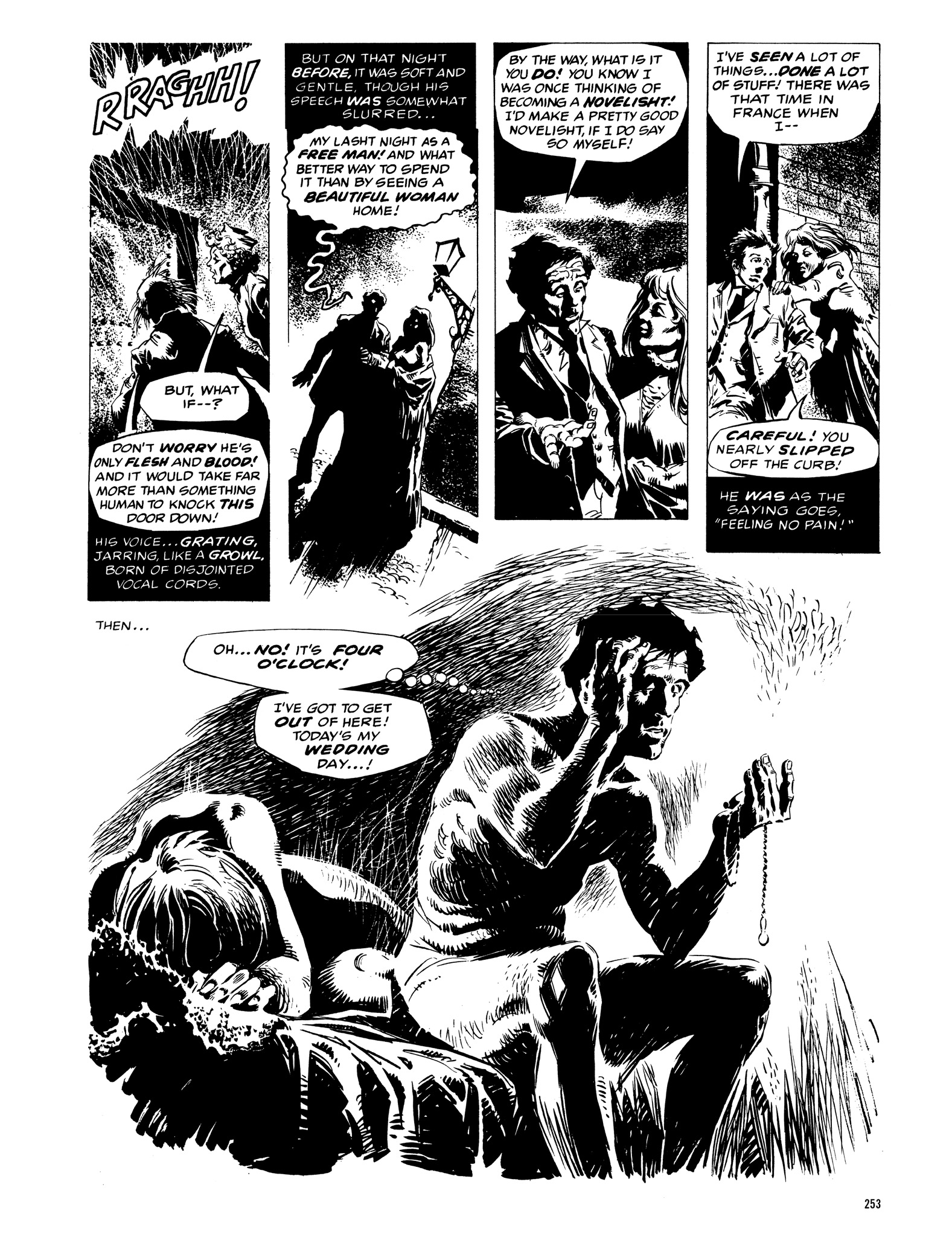 Read online Eerie Archives comic -  Issue # TPB 12 - 254
