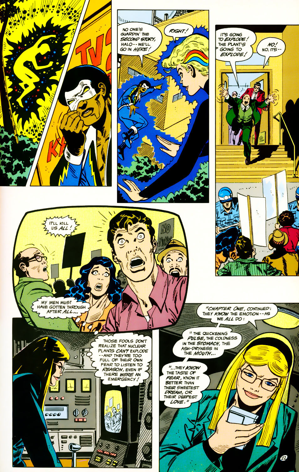 Read online Adventures of the Outsiders comic -  Issue #39 - 23