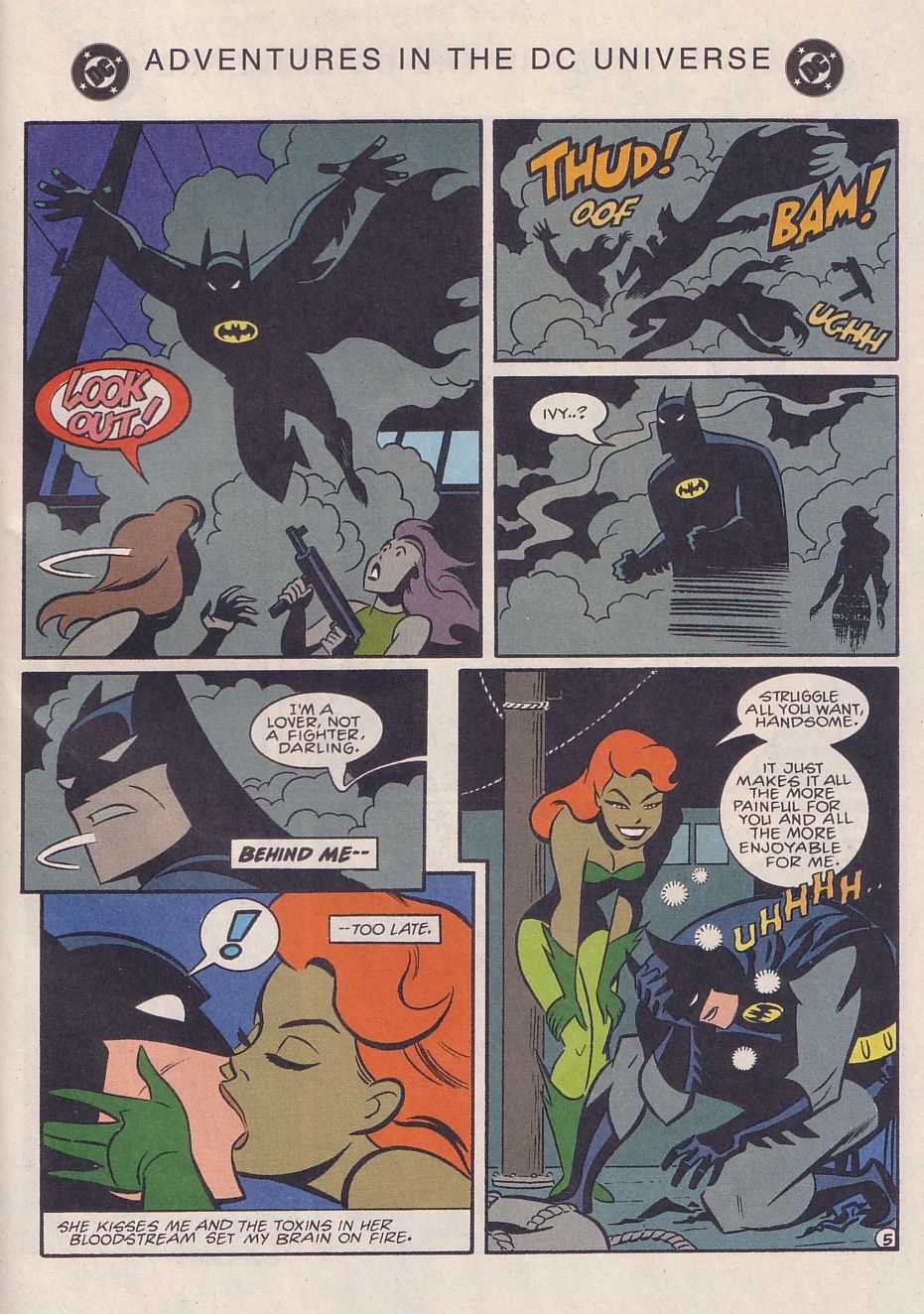 Read online Adventures in the DC Universe comic -  Issue #3 - 22
