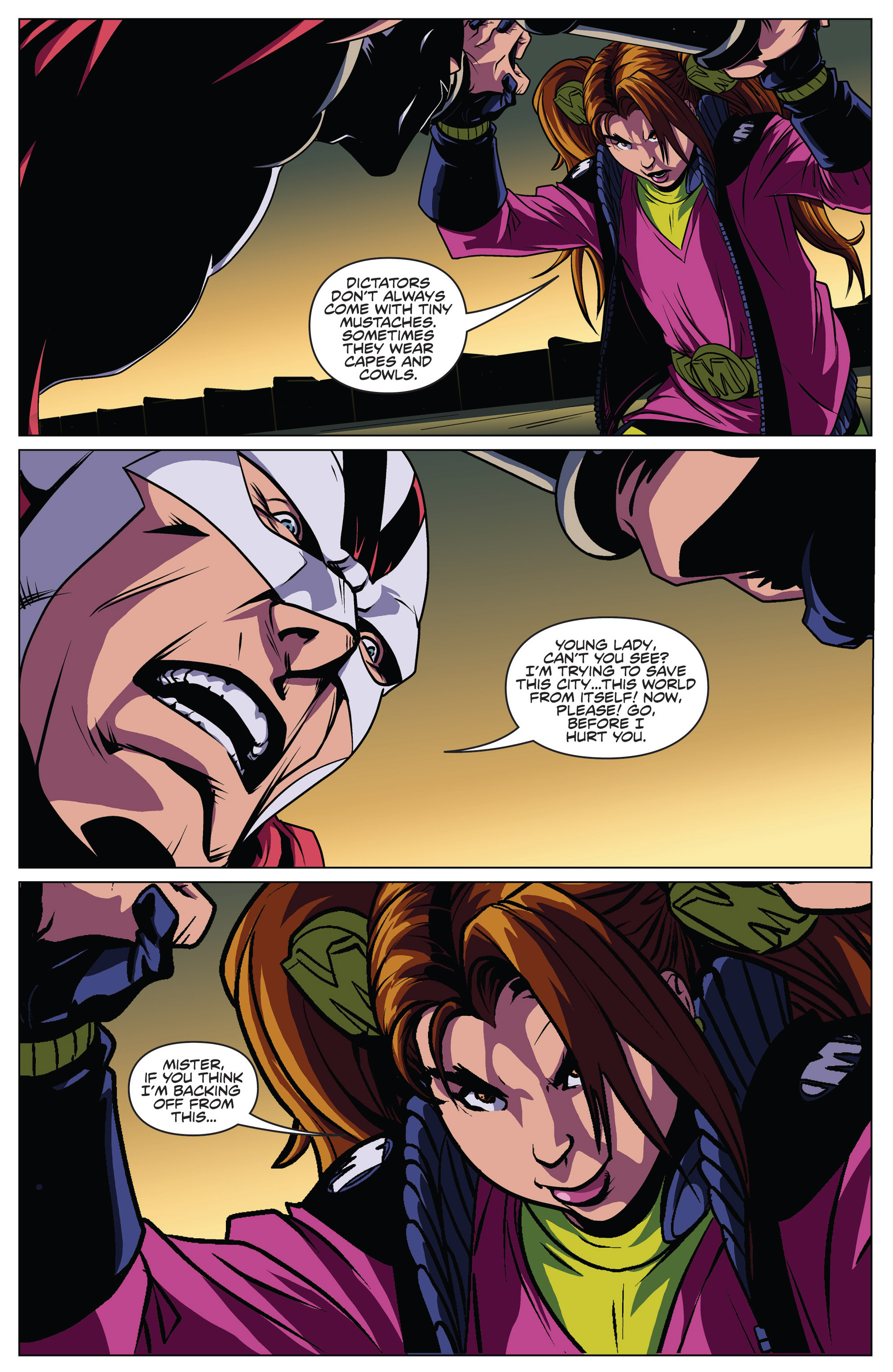 Read online Actionverse comic -  Issue #4 - 16
