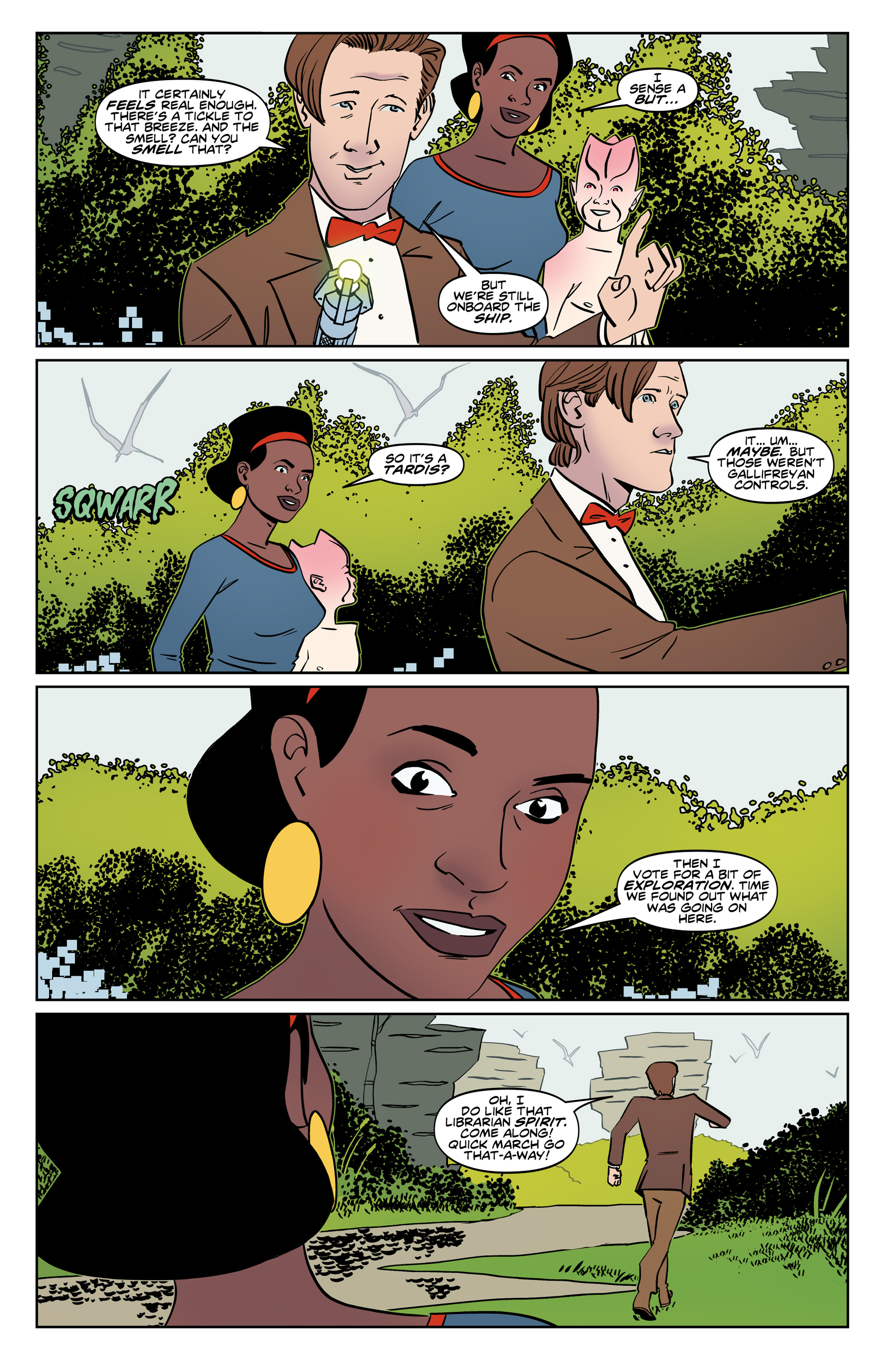 Read online Doctor Who: The Eleventh Doctor Year Three comic -  Issue #6 - 13