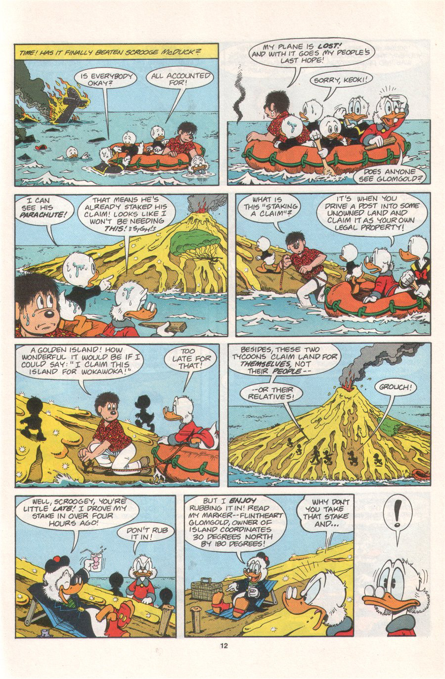 Read online Uncle Scrooge (1953) comic -  Issue #276 - 17