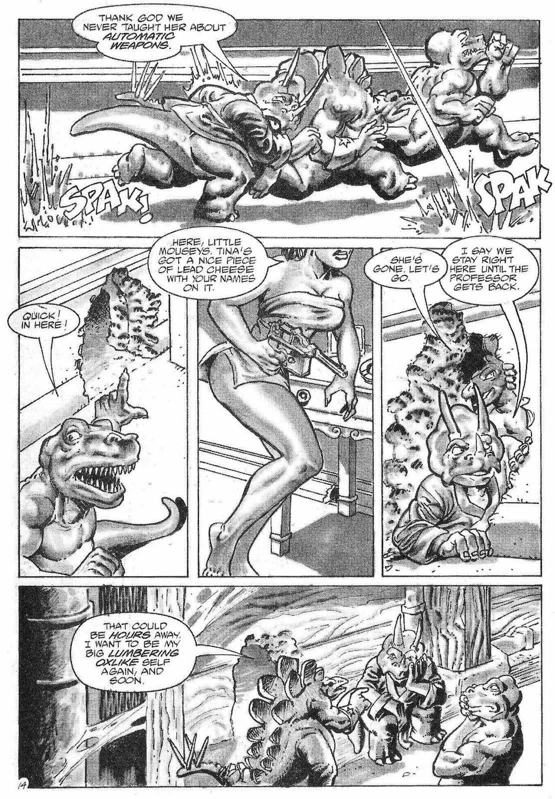 Dinosaurs For Hire (1988) issue 6 - Page 16