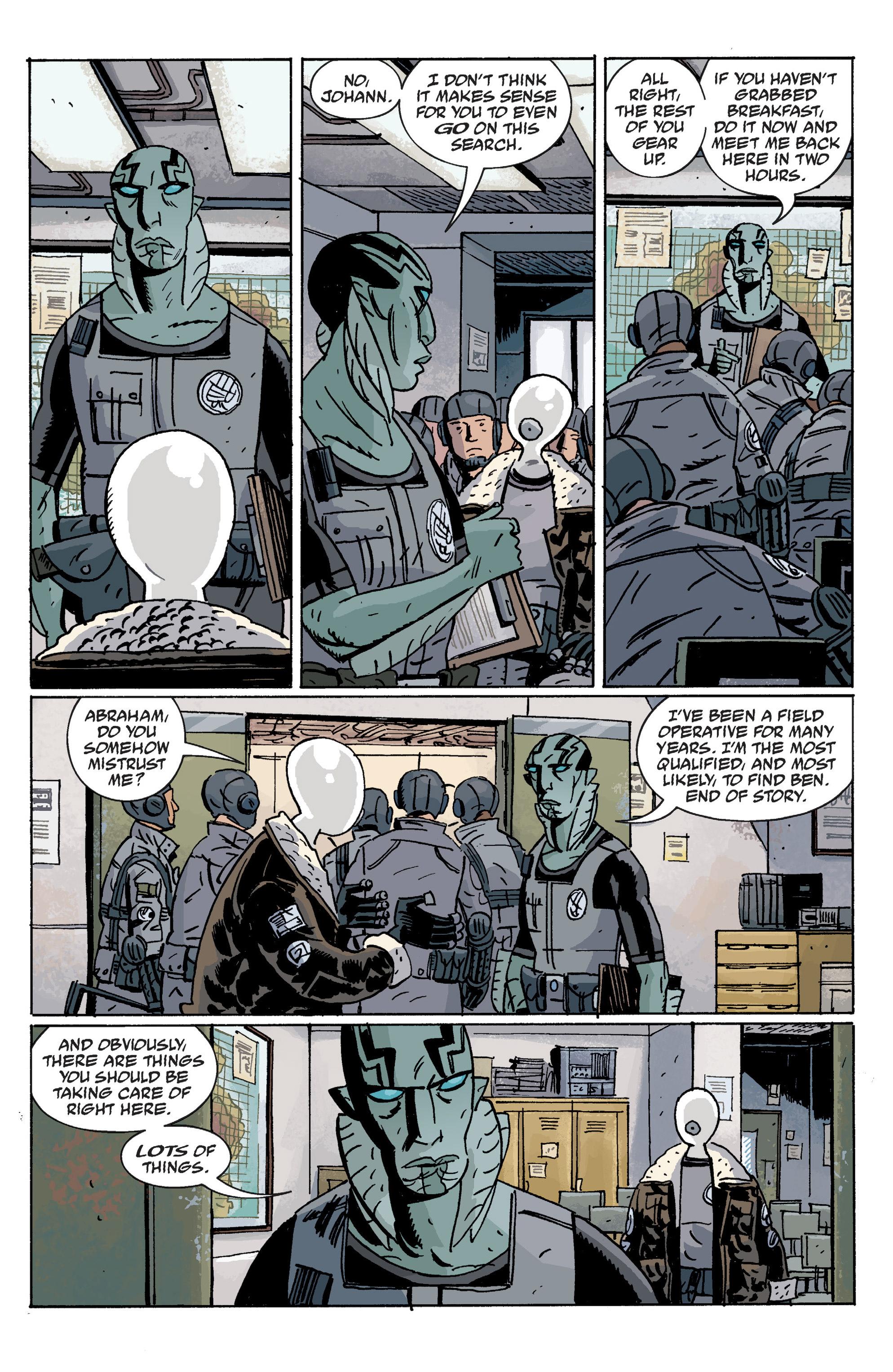 Read online B.P.R.D. (2003) comic -  Issue # TPB 10 - 9
