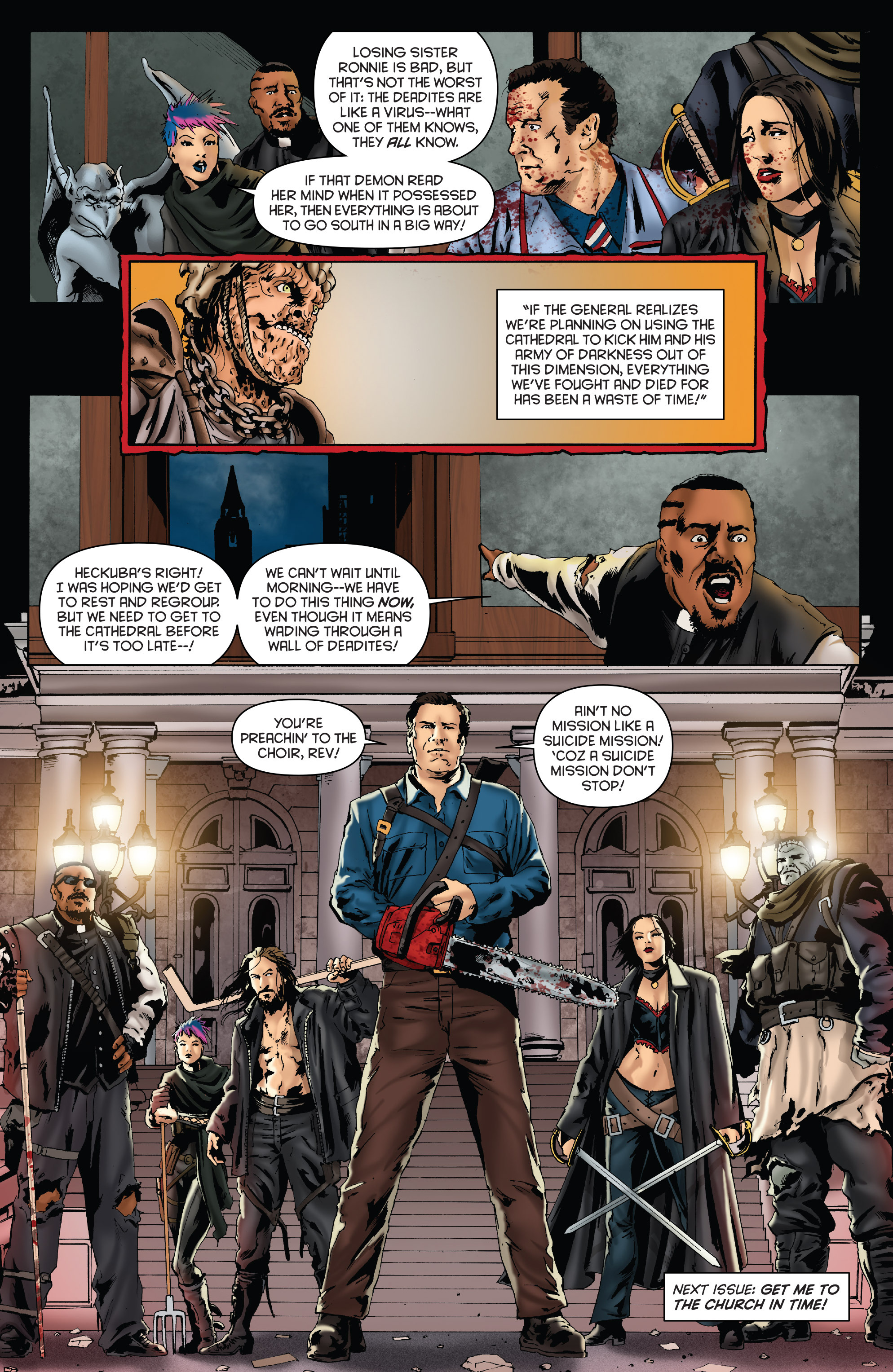 Read online Army of Darkness: Furious Road comic -  Issue #3 - 23