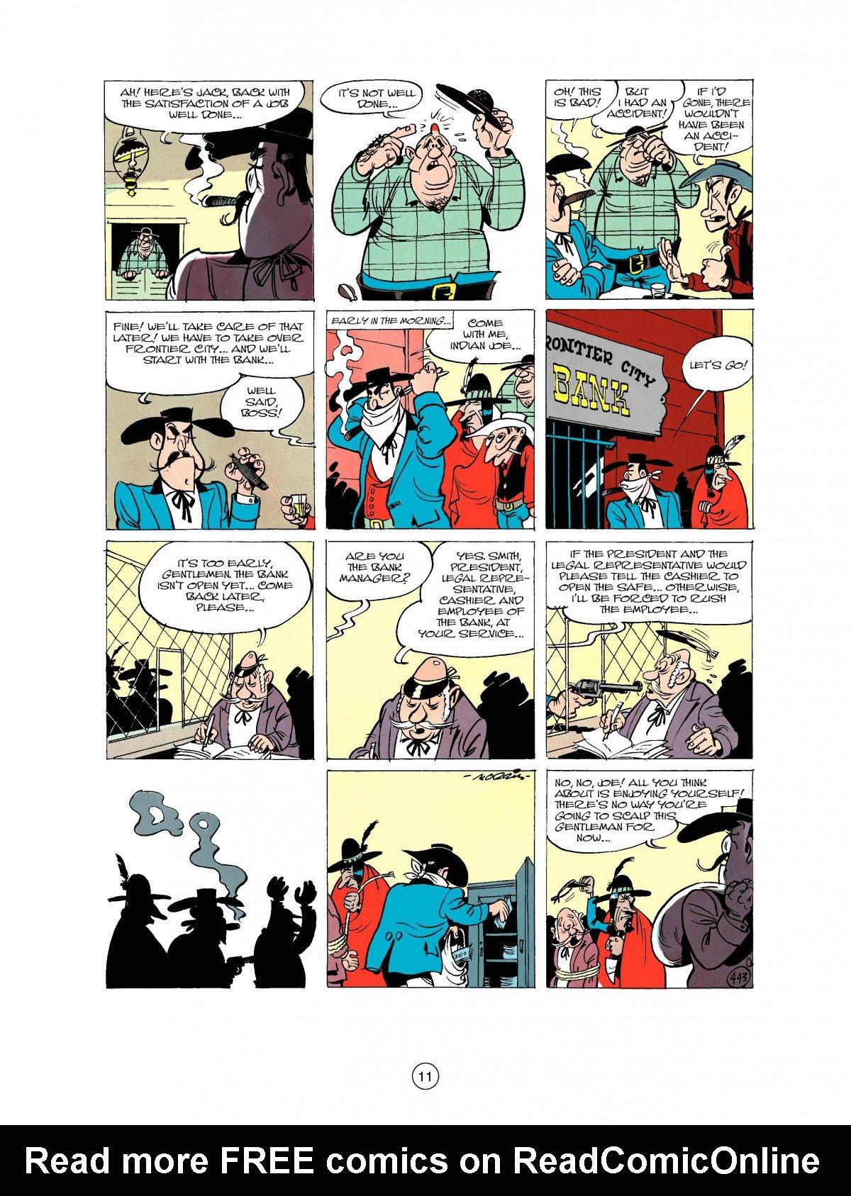 Read online A Lucky Luke Adventure comic -  Issue #27 - 12