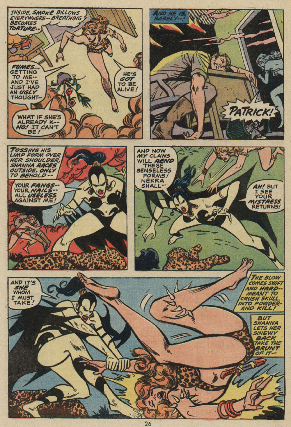 Read online Shanna, the She-Devil (1972) comic -  Issue #5 - 18