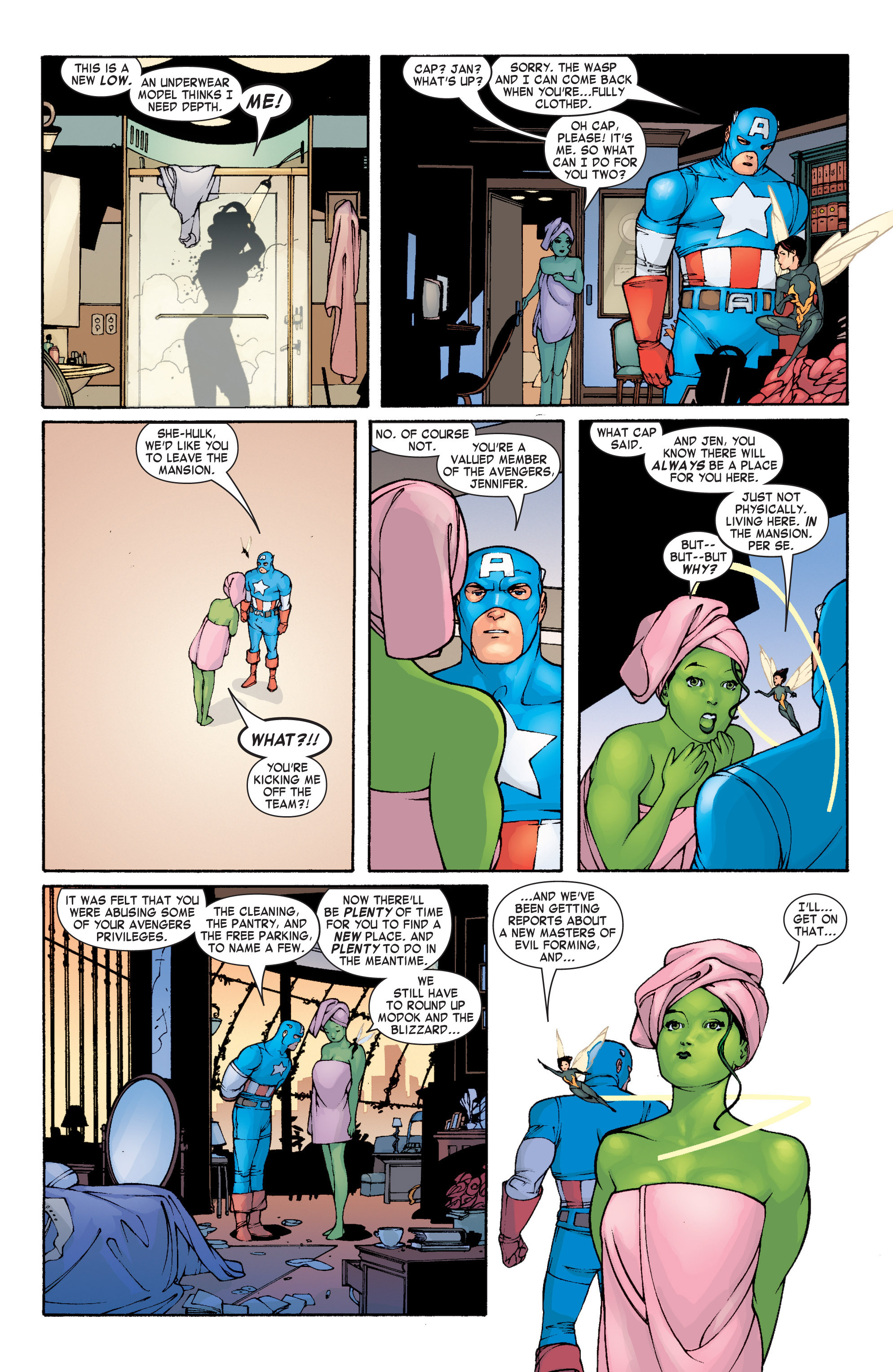 Read online She-Hulk (2004) comic -  Issue #1 - 16