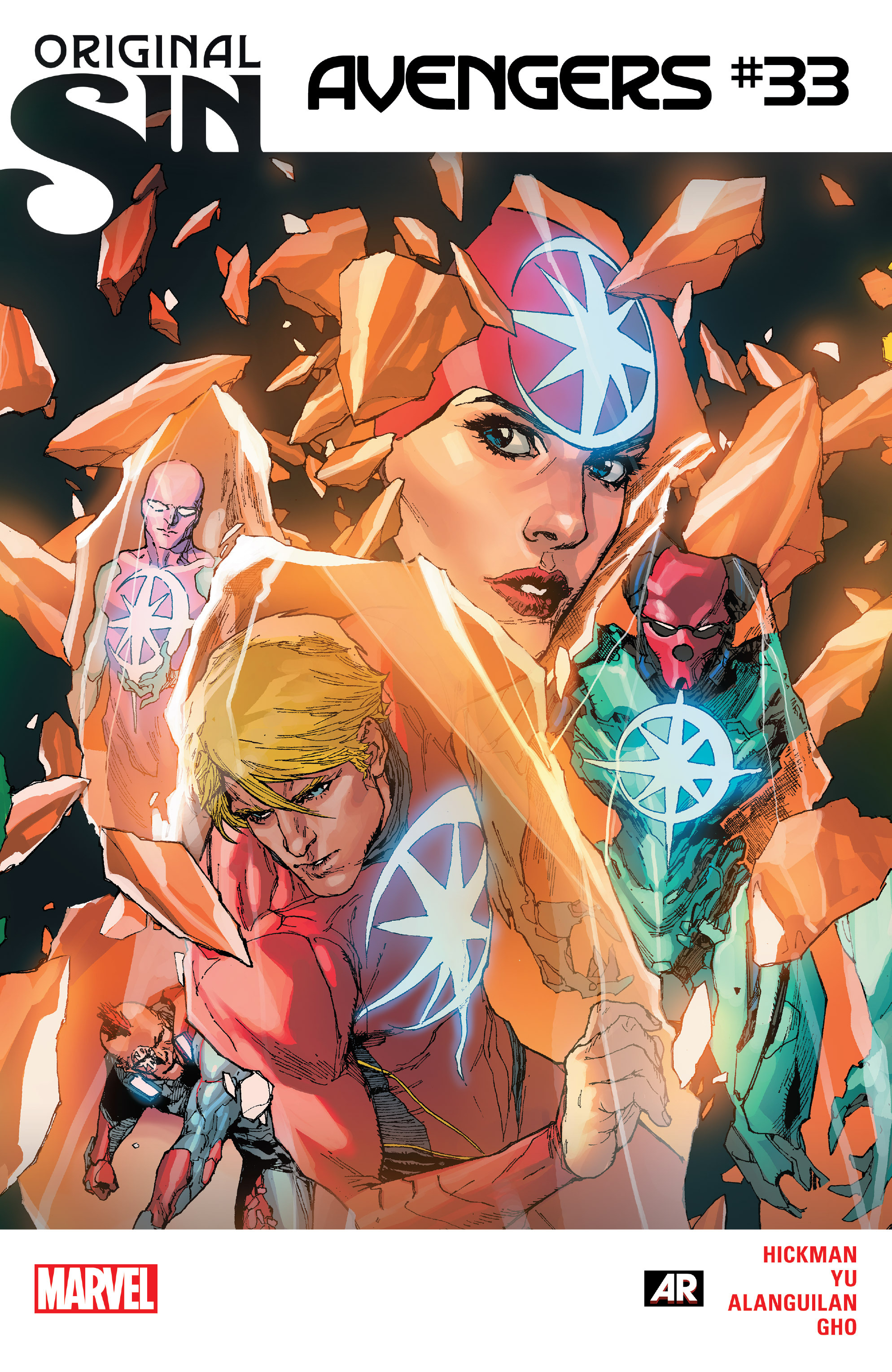 Read online Avengers (2013) comic -  Issue #33 - 1