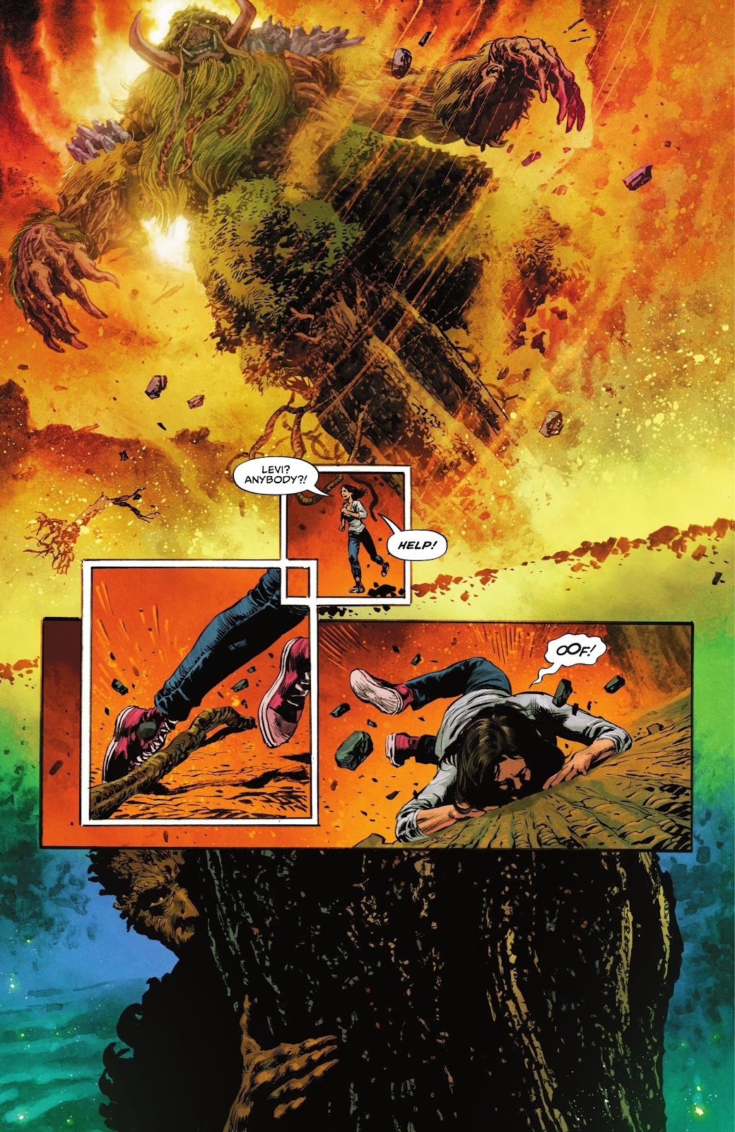 The Swamp Thing issue 3 - Page 11